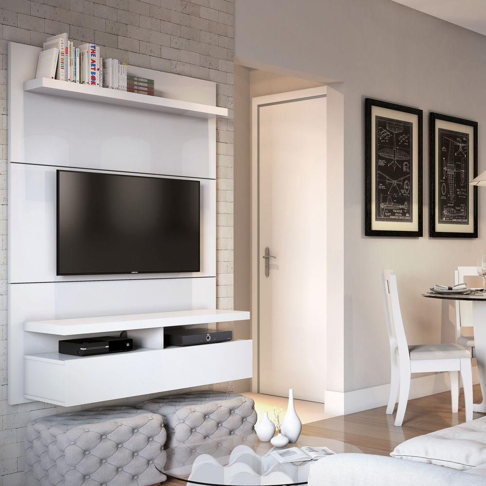 Entertainment Center - Tv Stands - Living Room Furniture - The Home for Wakefield 97 Inch Tv Stands (Image 6 of 30)