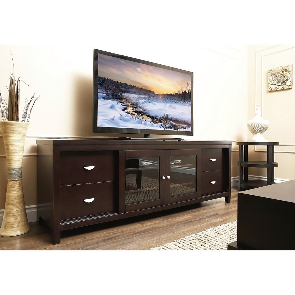 Entertainment Center Wall Unit 100 Inch Tv Stand Target 75 With within Murphy 72 Inch Tv Stands (Image 10 of 30)