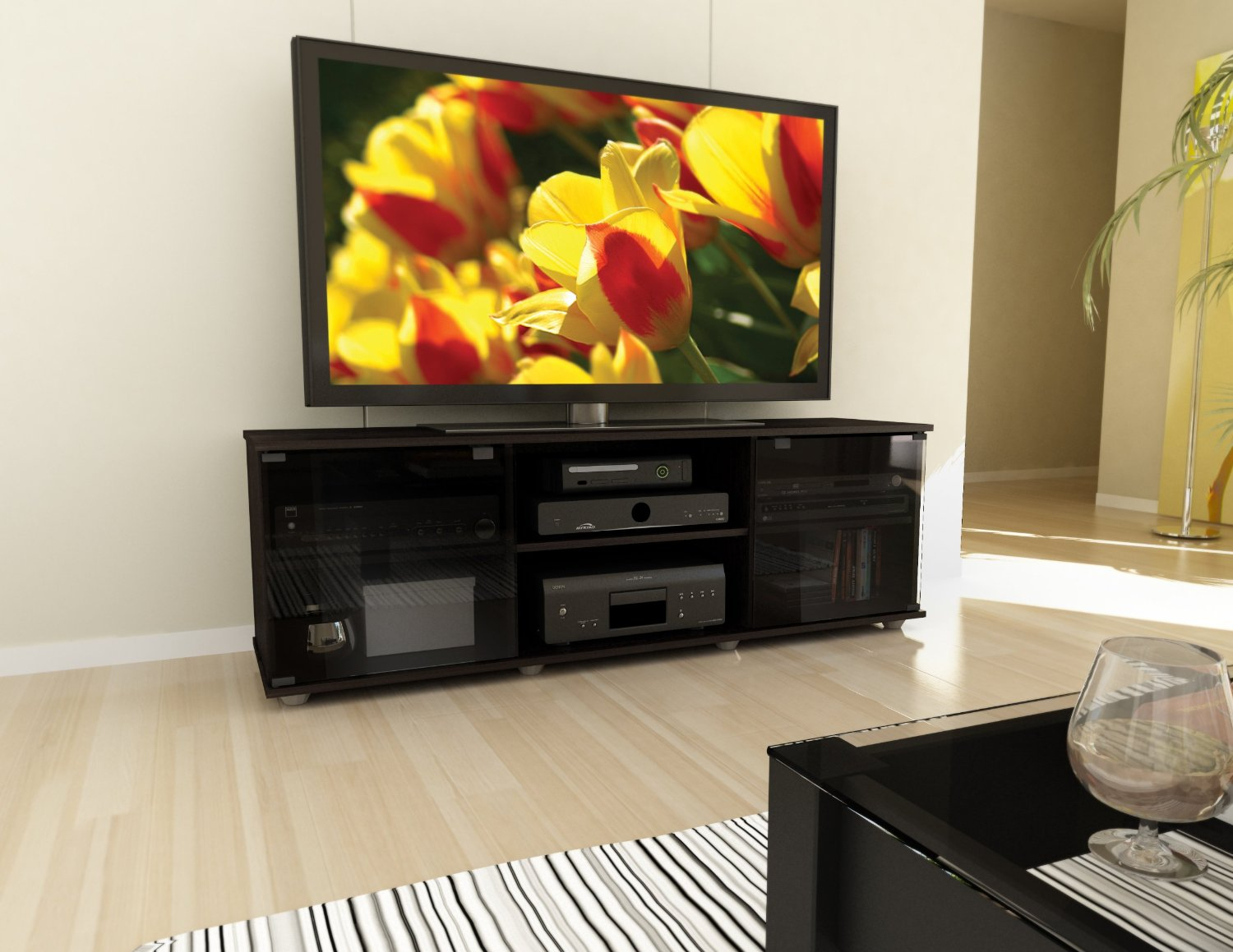 Entertainment Centers For 60 Inch Tv Decor — Home Decor Pertaining To Abbott Driftwood 60 Inch Tv Stands (Photo 19 of 30)