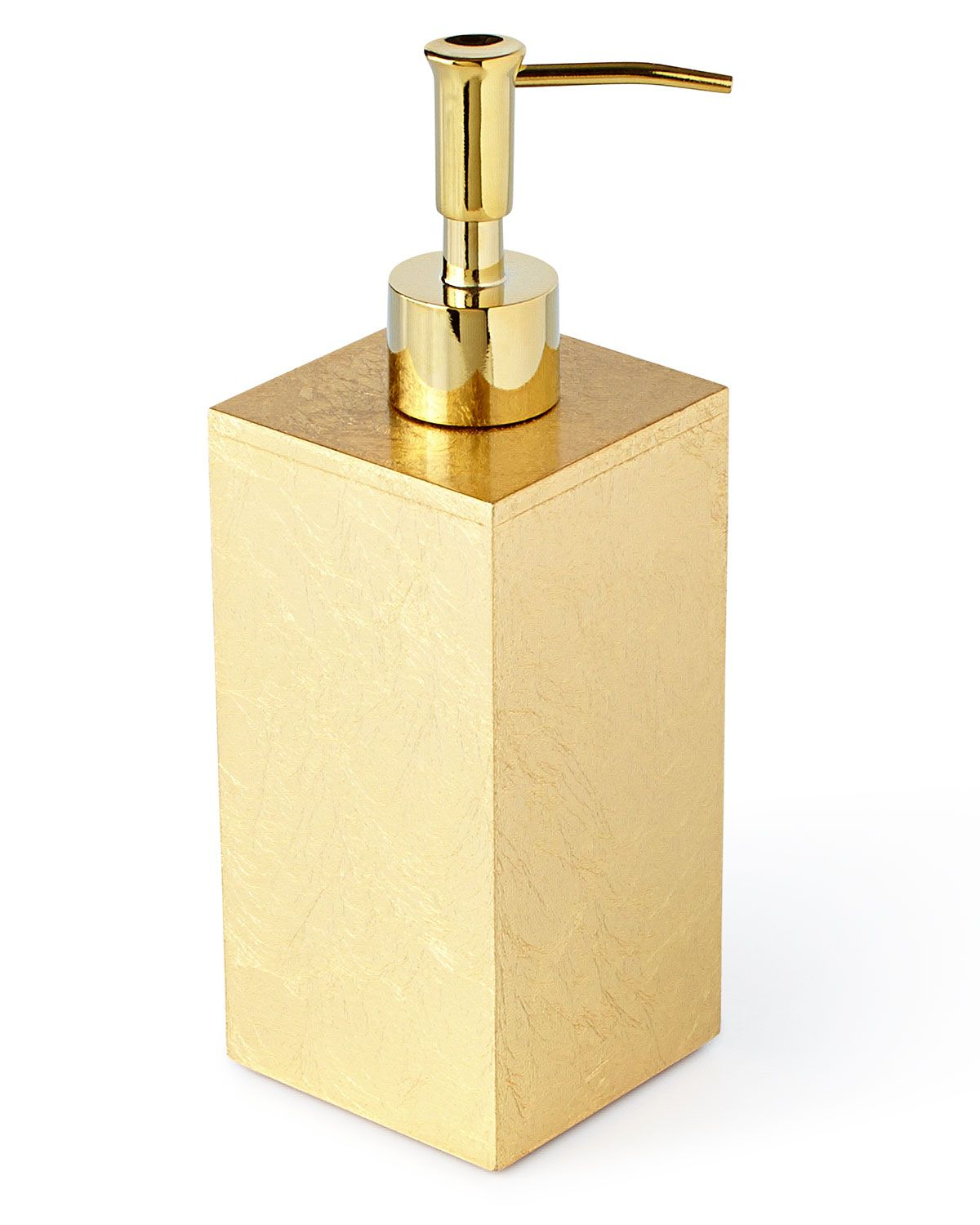 Eos Pump Dispenser | *bathroom Accessories > Bathroom Accessory Sets with regard to Parsons Travertine Top & Brass Base 48X16 Console Tables (Image 10 of 30)