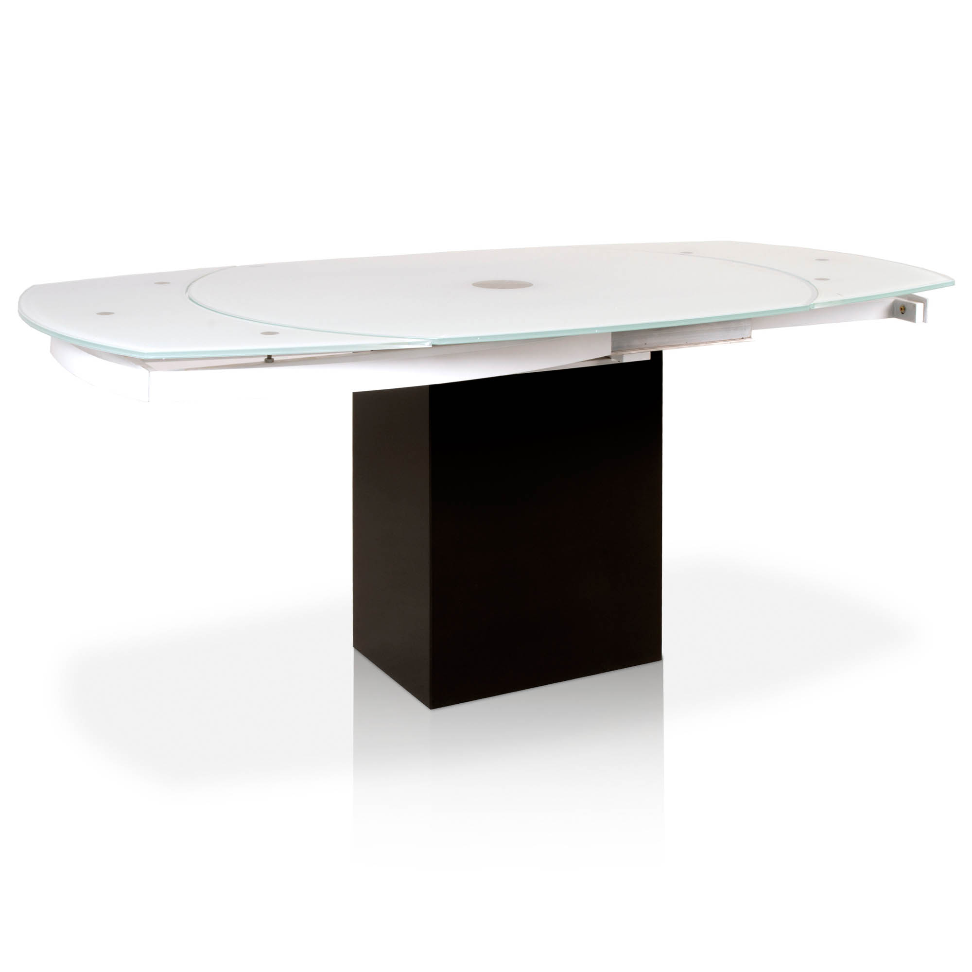 Era Extension Dining Table Throughout Era Glass Console Tables (Photo 30 of 30)