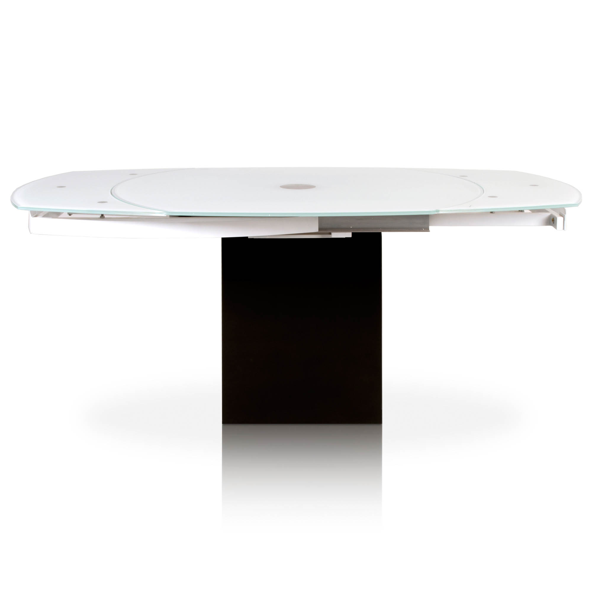 Era Extension Dining Table With Regard To Era Glass Console Tables (Gallery 13 of 30)