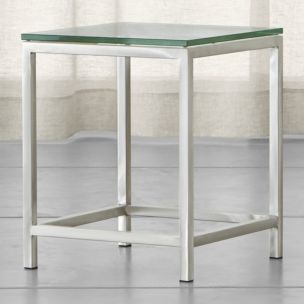 Era Glass Side Table | Products | Pinterest | Table, Glass Side With Regard To Era Glass Console Tables (Photo 2 of 30)