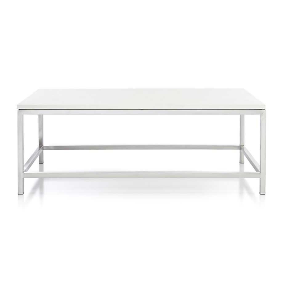 Era Limestone Rectangular Coffee Table | Home | Table, Living Room, Room Pertaining To Era Limestone Console Tables (Photo 1 of 30)