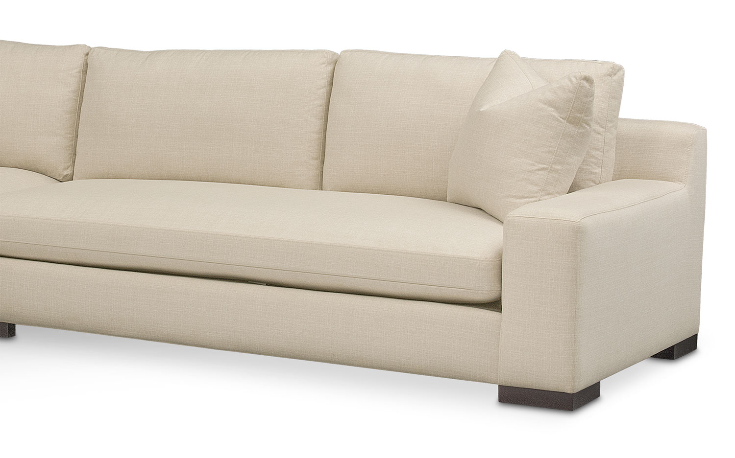 Ethan 2 Piece Sectional With Sofa   Value City Furniture And Mattresses With Regard To Ethan Console Tables (Photo 25 of 30)