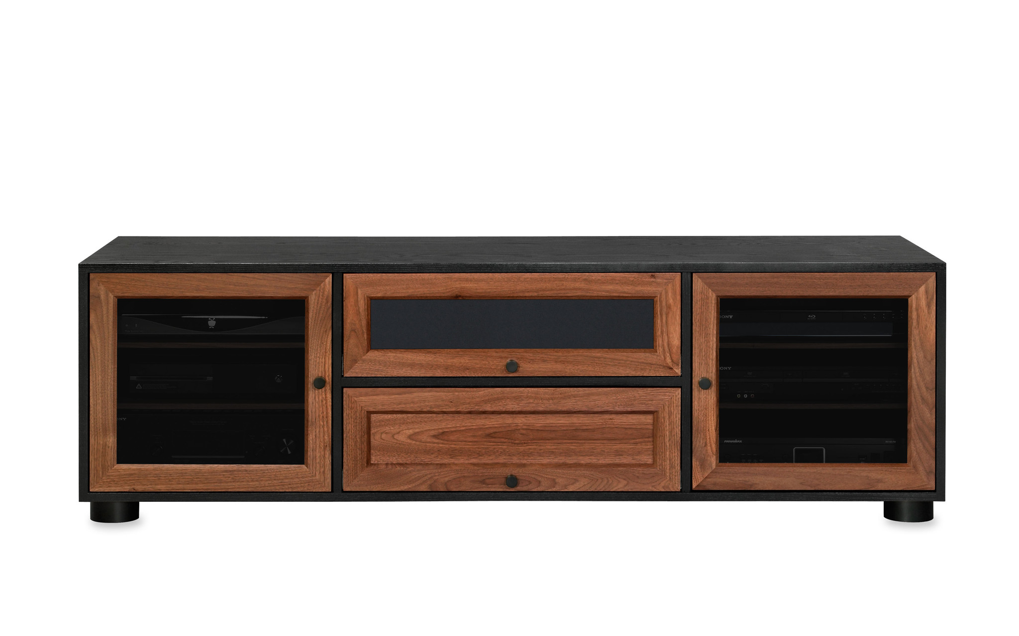 Exciting Ashley Tv Stand Tv Stand Home Entertainment From To Salient For Annabelle Black 70 Inch Tv Stands (Photo 17 of 30)