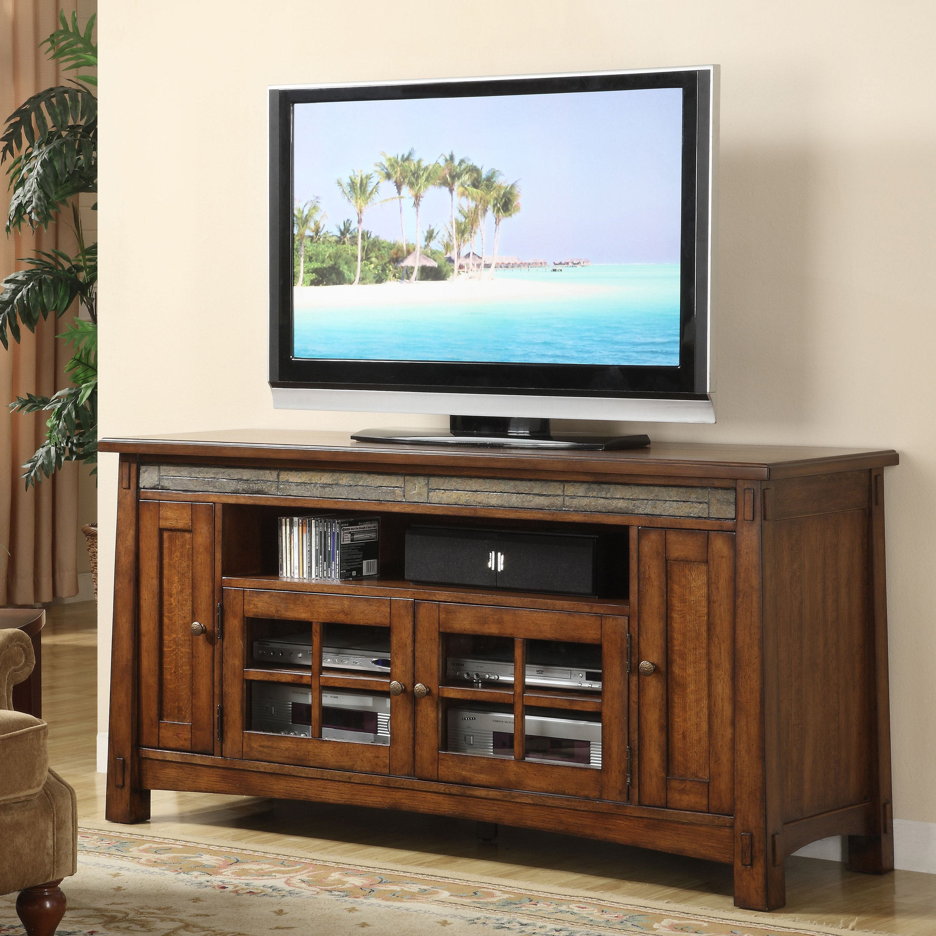 Exciting Ashley Tv Stand Tv Stand Home Entertainment From To within Annabelle Black 70 Inch Tv Stands (Image 18 of 30)