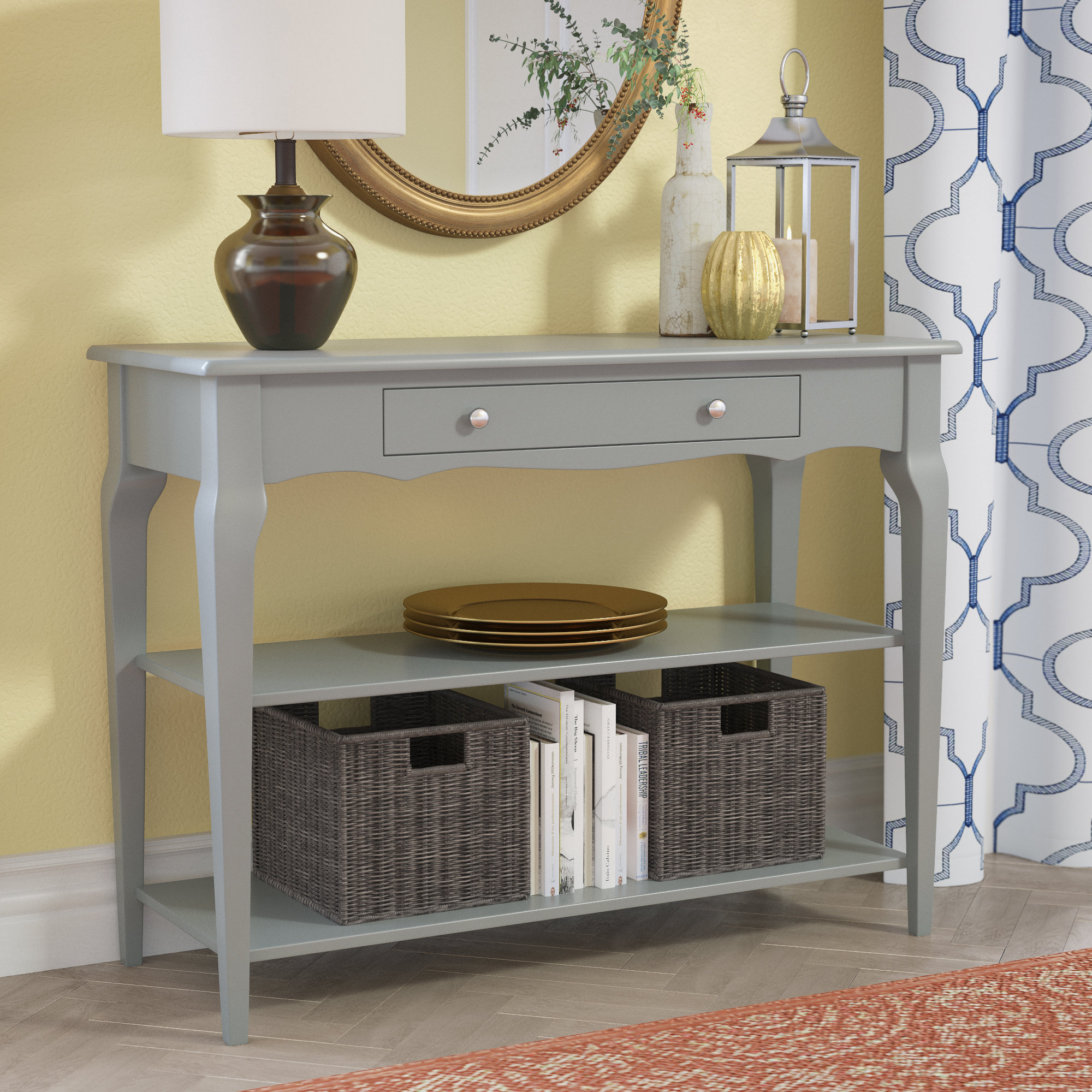 Extra Long Console Table | Wayfair In Silviano 60 Inch Console Tables (Photo 19 of 30)
