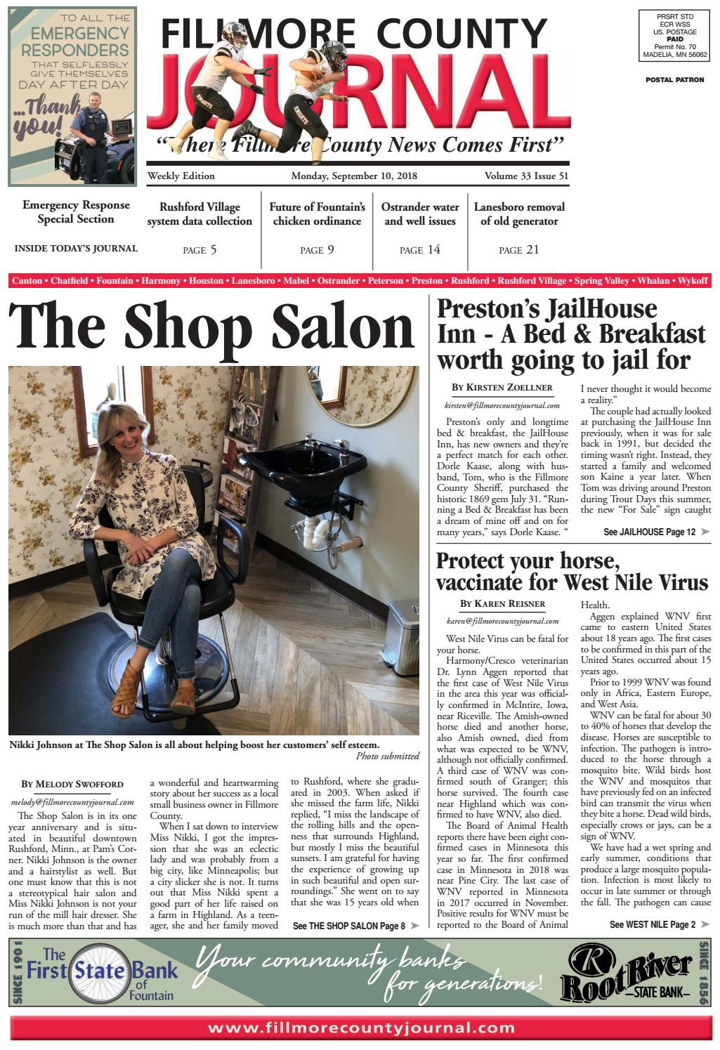 Fillmore County Journal – 9. (View 10 of 28)