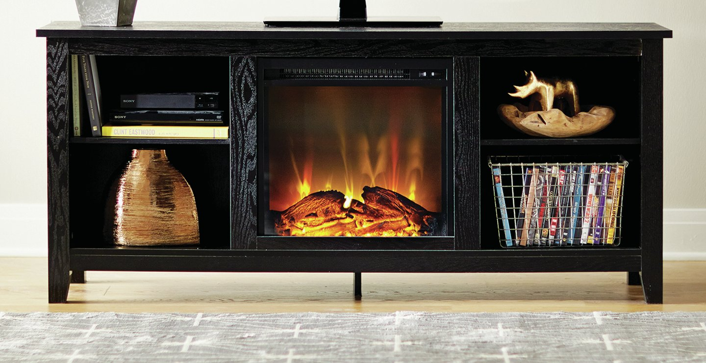 Fireplace Tv Stands & Entertainment Centers You'll Love | Wayfair.ca in Sinclair Blue 74 Inch Tv Stands (Image 9 of 30)
