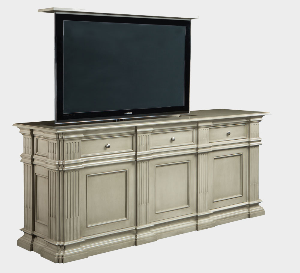 Flat Screen Tv Lift Cabinet | Large Flat Screen Tv Lift Furniture Within Vista 60 Inch Tv Stands (View 11 of 30)