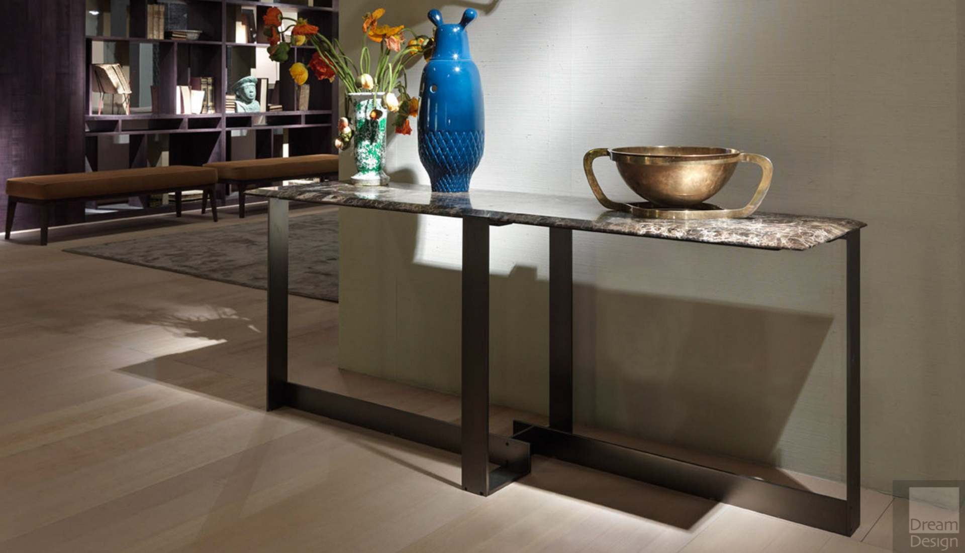 Flexform Mood Jacques Console Table - Everything But Ordinary throughout Jacque Console Tables (Image 8 of 30)