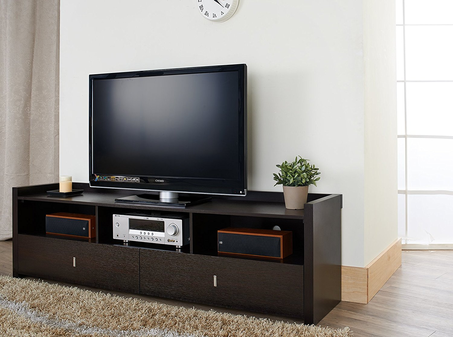 Floating Entertainment Center Mid Century Modern Tv Stand Simple Regarding Forma 65 Inch Tv Stands (View 10 of 30)