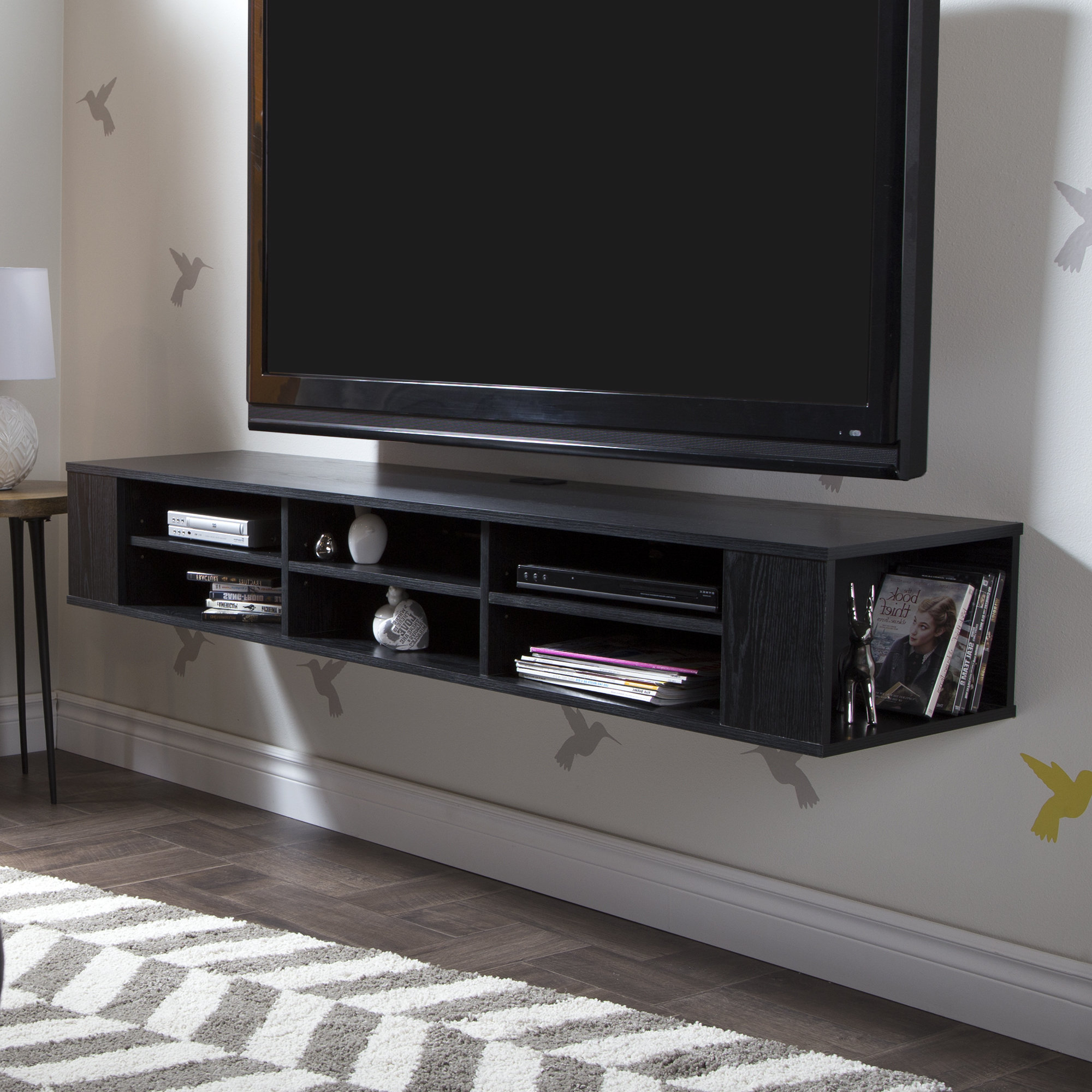 Floating Shelves For Tv | Wayfair In Cato 60 Inch Tv Stands (View 21 of 30)