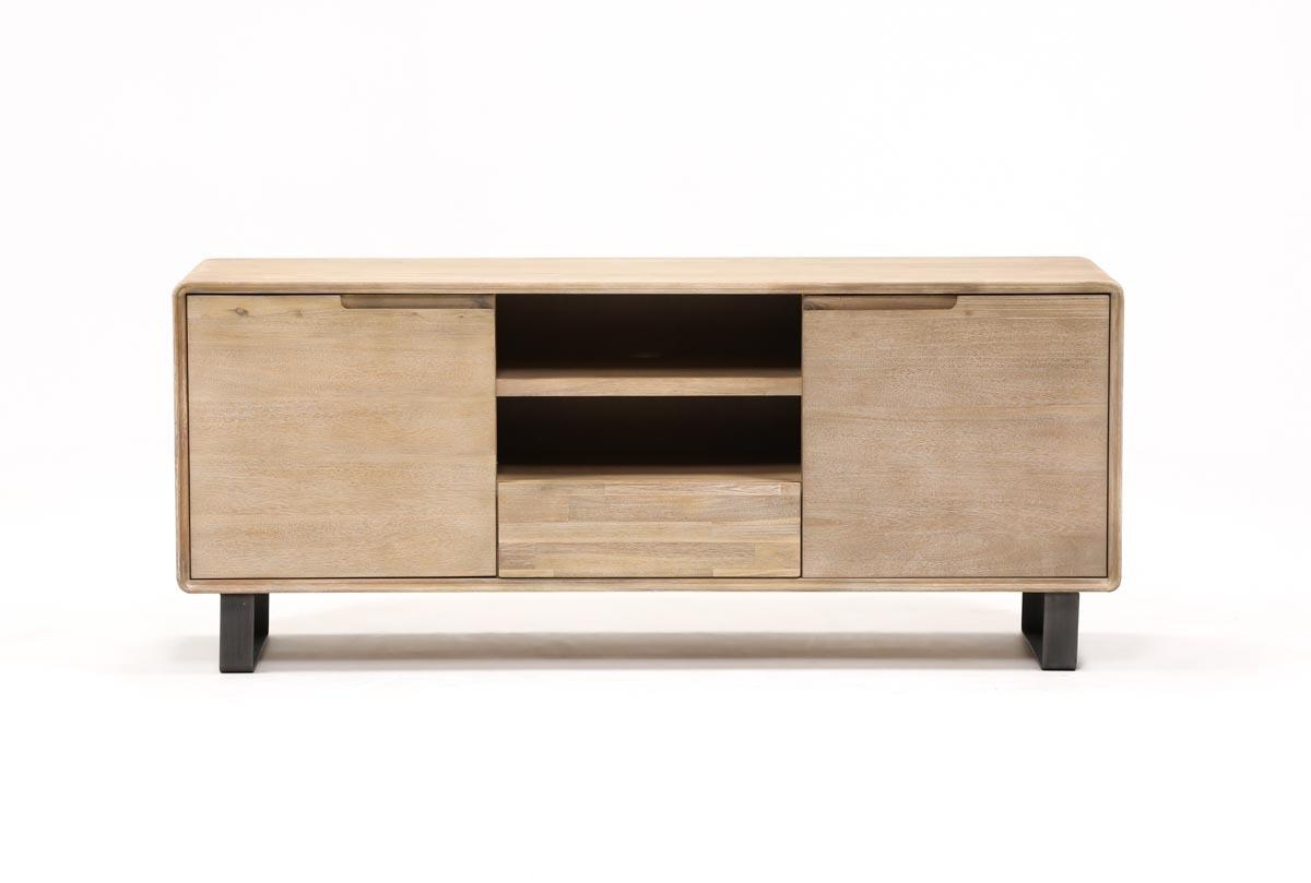 Forma 65 Inch Tv Stand | Living Spaces throughout Melrose Titanium 65 Inch Lowboy Tv Stands (Image 17 of 30)