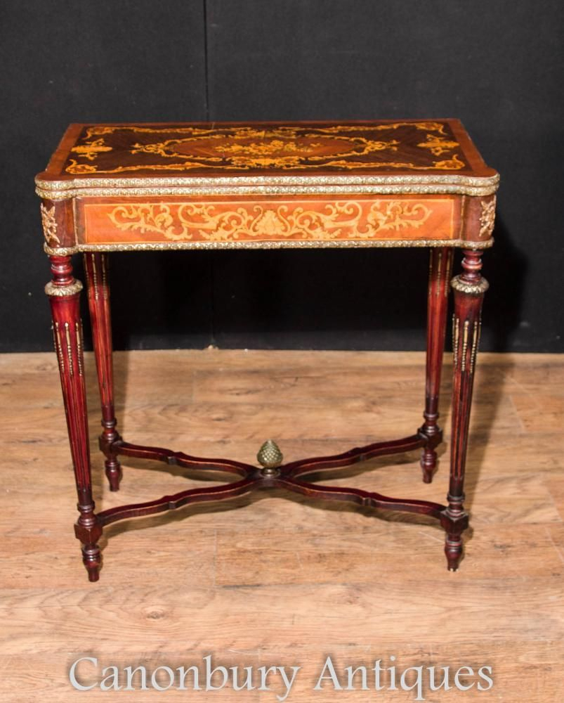 Popular Photo of Orange Inlay Console Tables