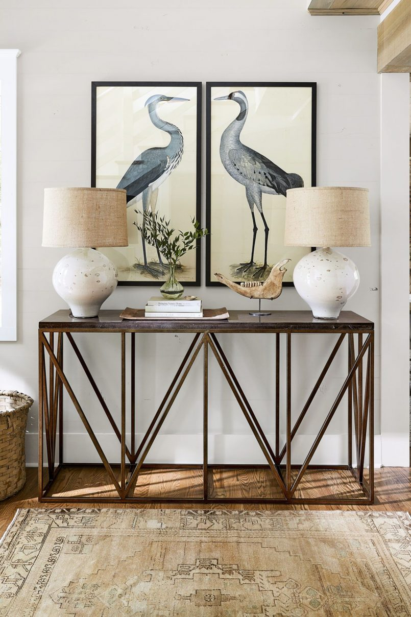 Furniture Brass Console Table Bamboo Console Table Minimalista For Clairemont Demilune Console Tables (View 10 of 30)