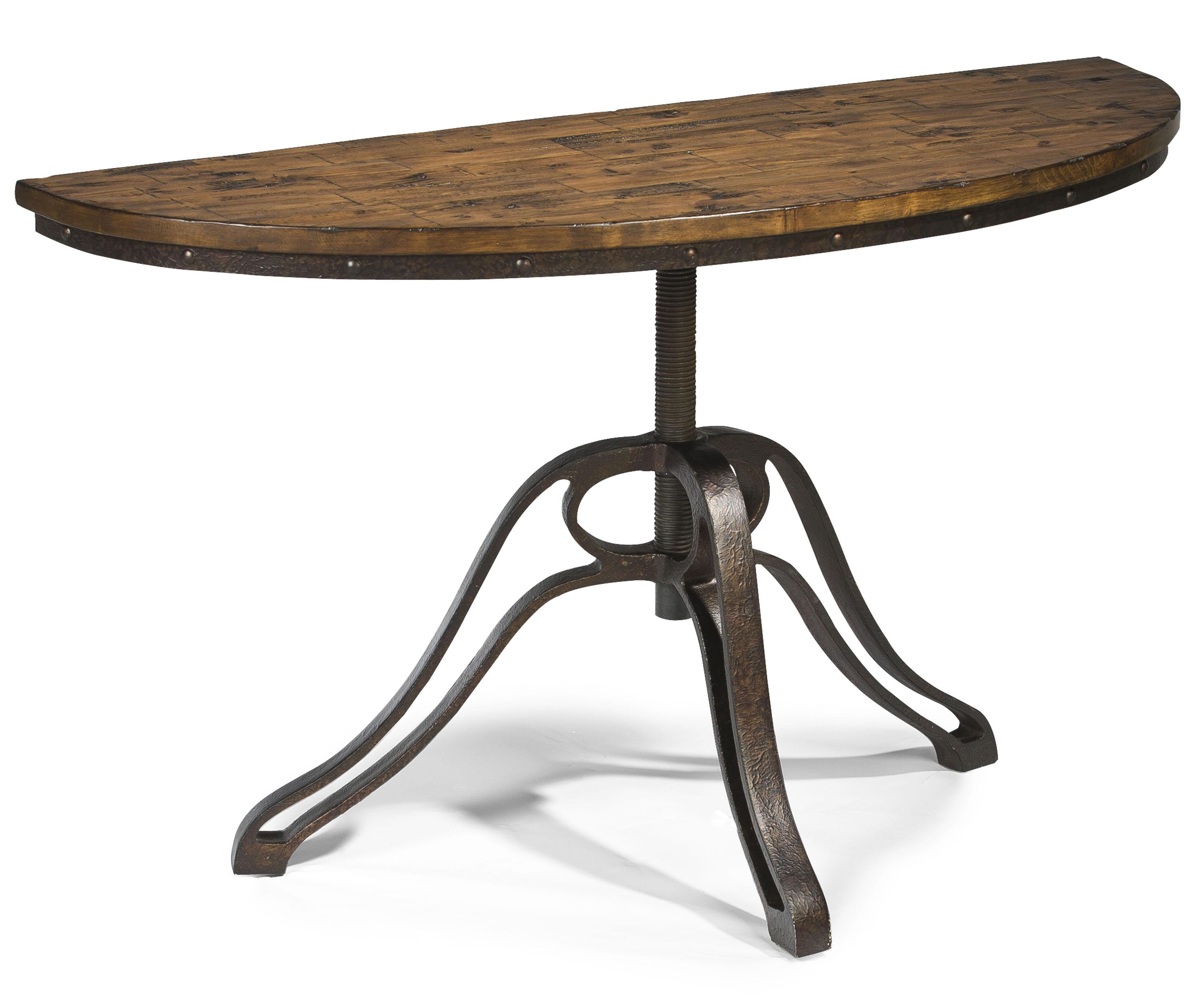 Furniture: Captivating Demilune Table For Home Furniture Ideas Pertaining To Clairemont Demilune Console Tables (View 12 of 30)