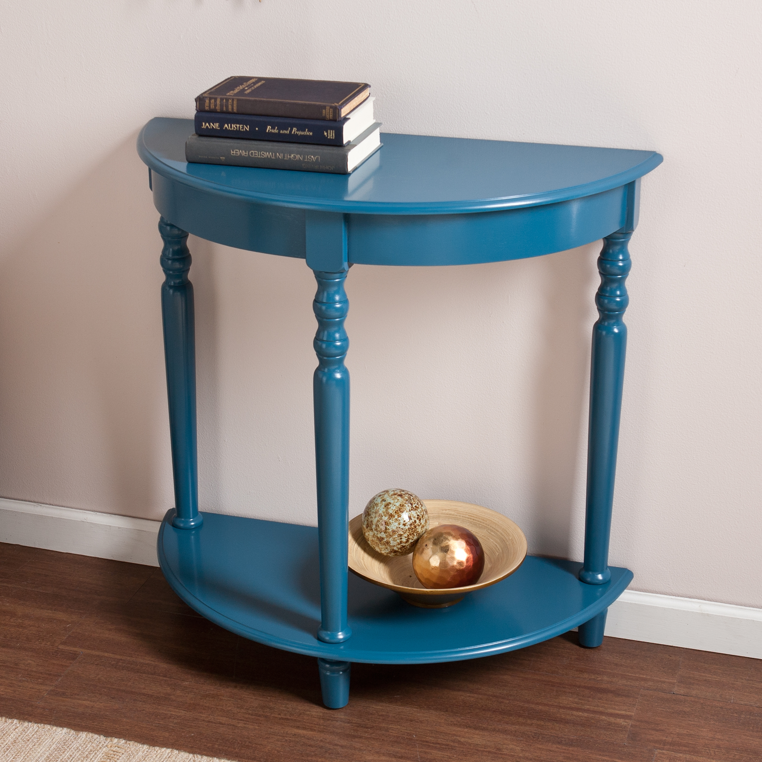 Furniture: Captivating Demilune Table For Home Furniture Ideas Throughout Clairemont Demilune Console Tables (View 13 of 30)
