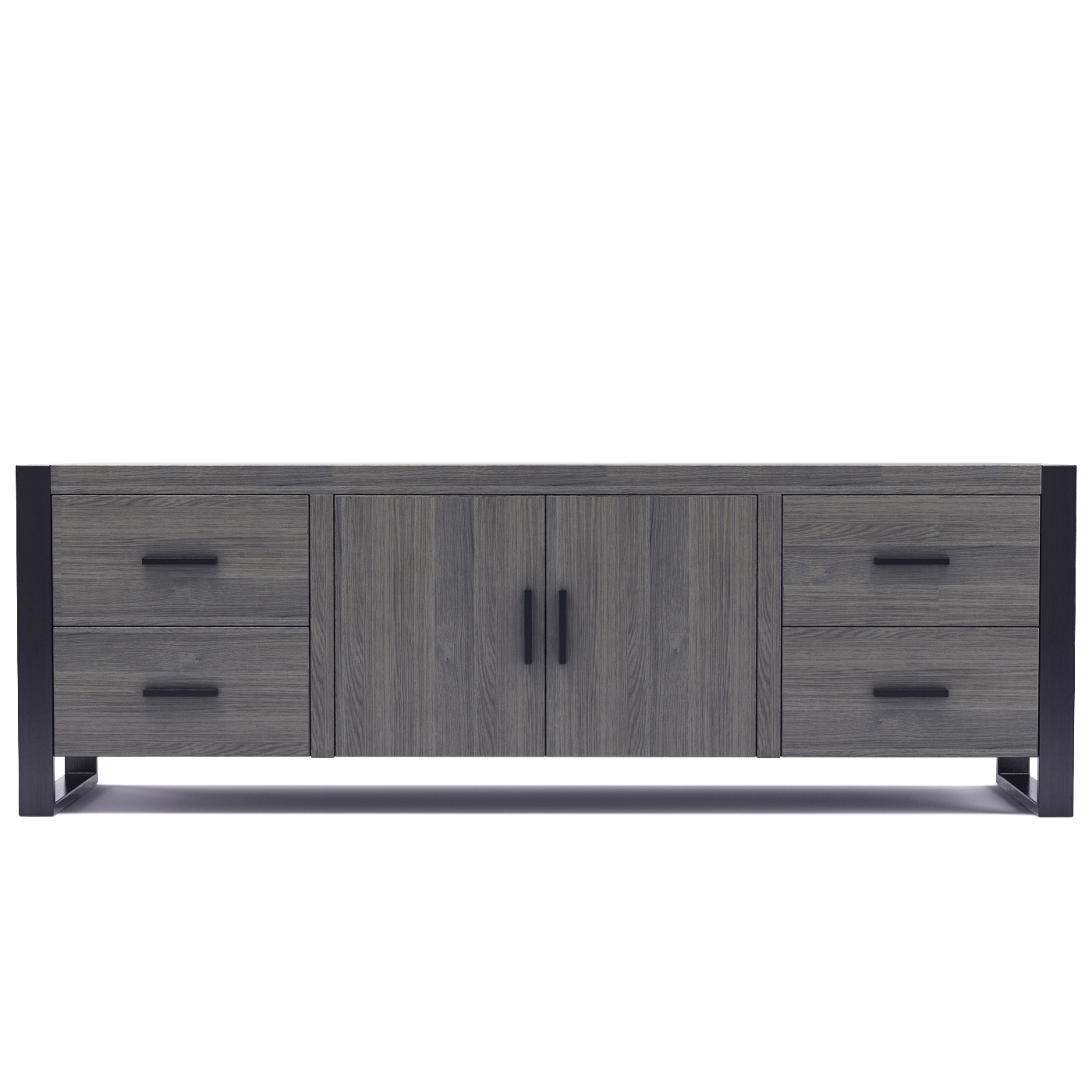 Furniture: Dexter 70 Inch Tv Stand In Ash Grey And Black with Annabelle Black 70 Inch Tv Stands (Image 20 of 30)