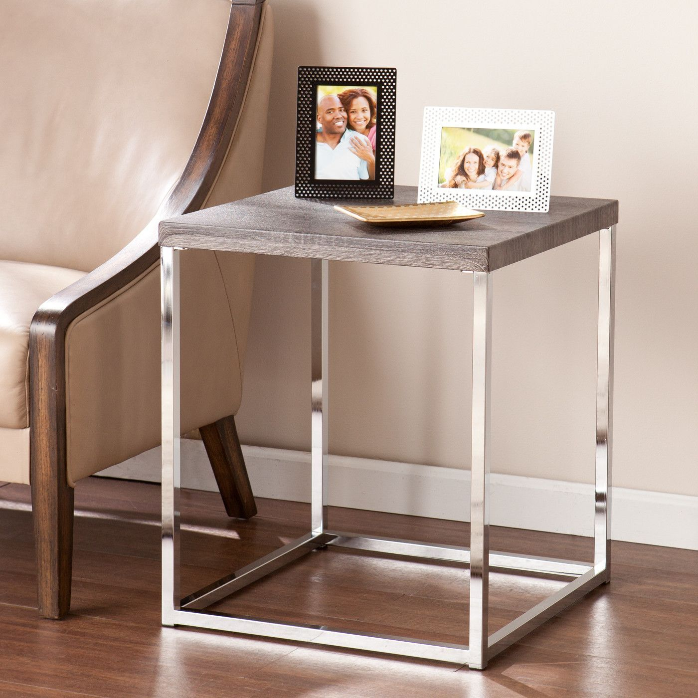 Gellar End Table | Products | Pinterest | Products Inside Era Limestone Console Tables (View 6 of 30)