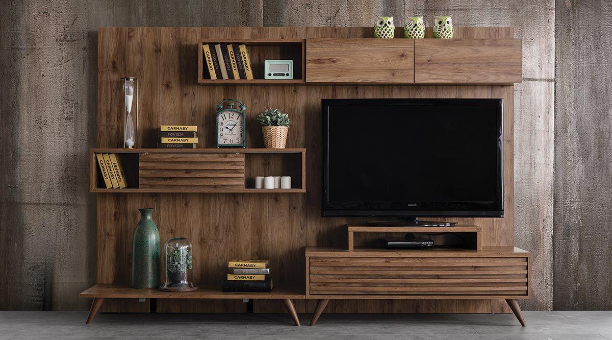 Genova Tv Ünitesi - Vivense | Evim Için | Pinterest | Tv Cabinets with regard to Willa 80 Inch Tv Stands (Image 16 of 30)