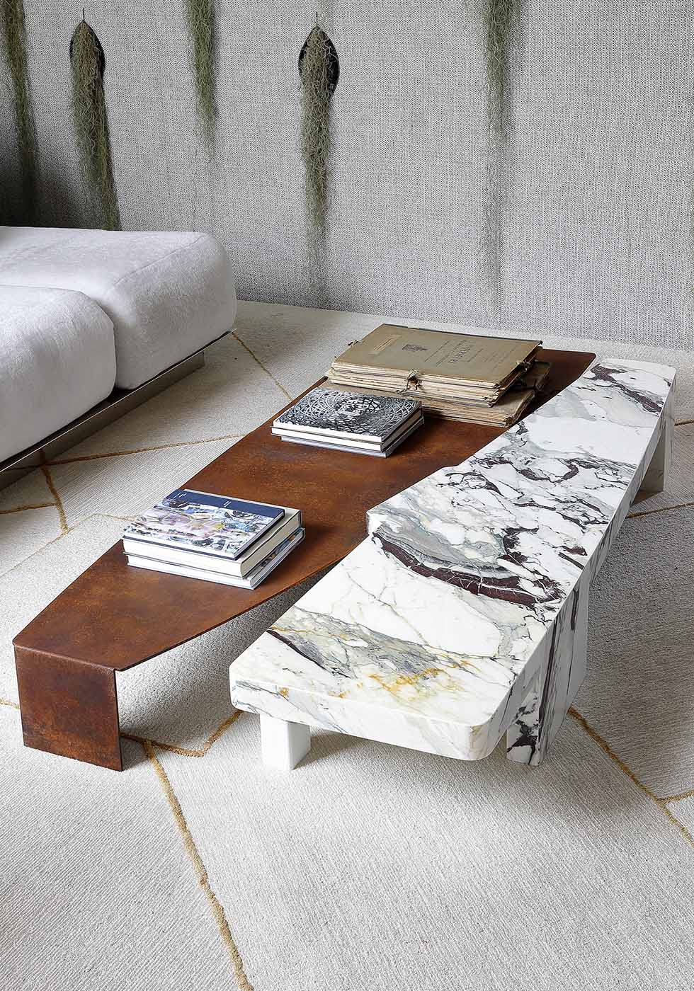 Geo-Organic — Galvan Cedillo throughout Scattered Geo Console Tables (Image 13 of 30)