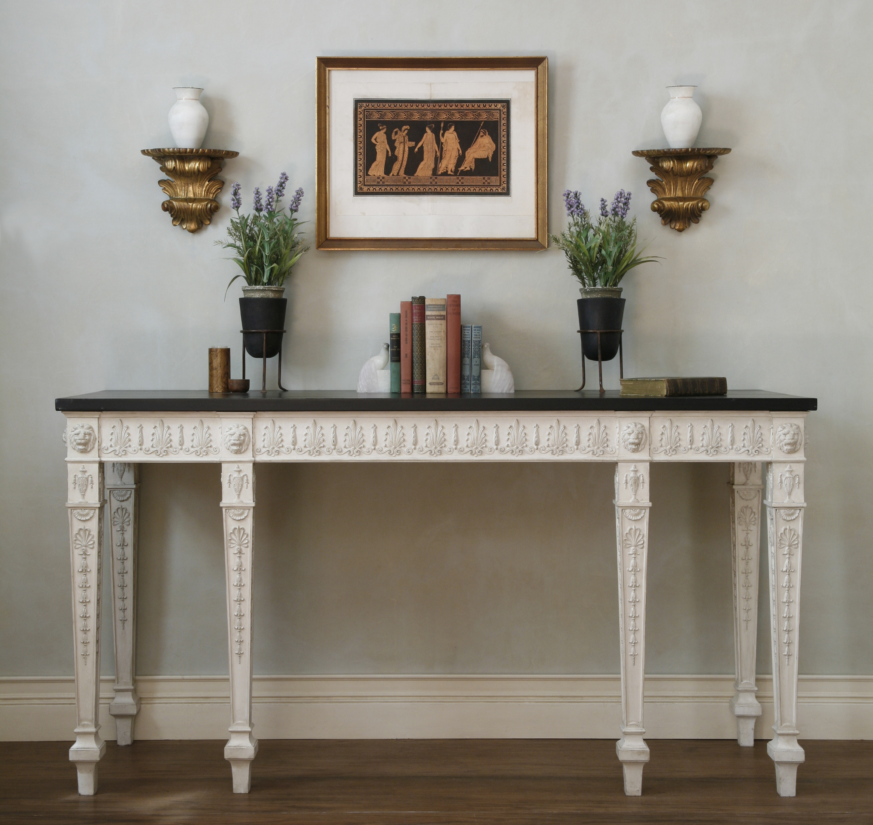 George Iii Console Table – Kevin Cross Studio pertaining to Archive Grey Console Tables (Image 22 of 30)