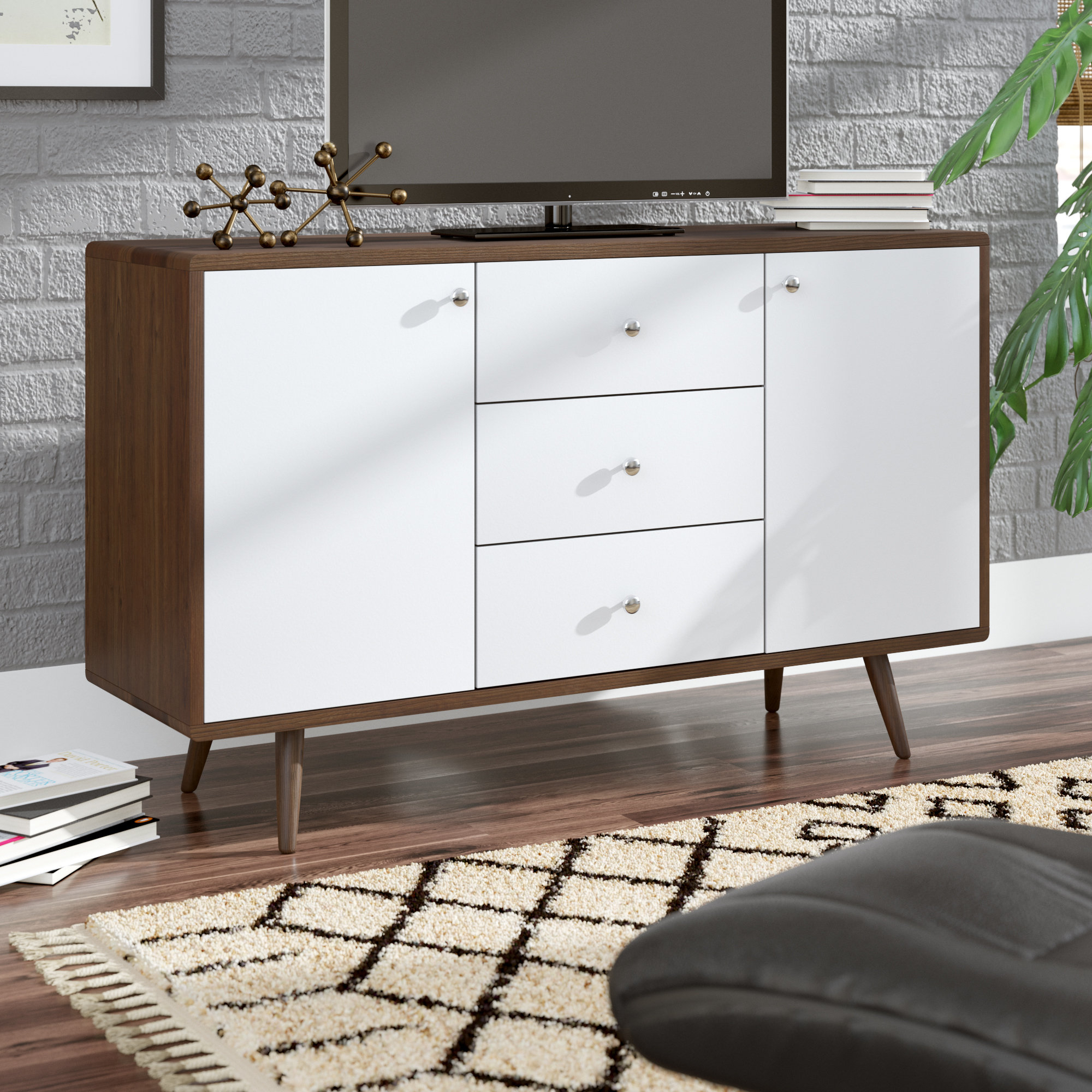 """George Oliver Wightman Tv Stand For Tvs Up To 48"""" & Reviews 