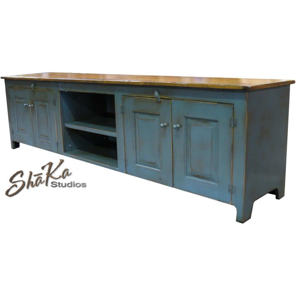 Girtz 90 Inch Tv Stand | The American Media Room In 2018 | Pinterest within Sinclair Blue 74 Inch Tv Stands (Image 14 of 30)