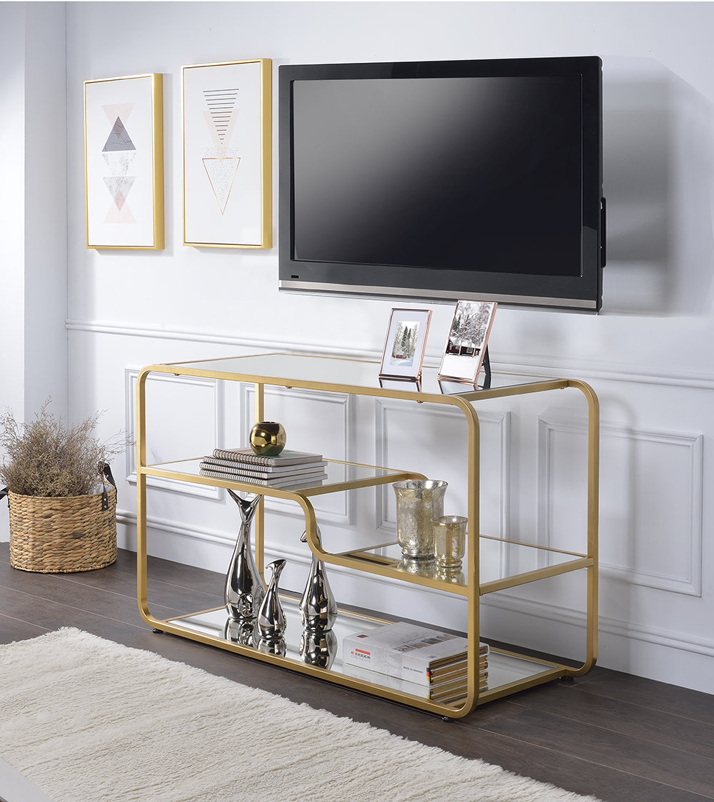Glam Tv Stands You'll Love | Wayfair (View 23 of 30)