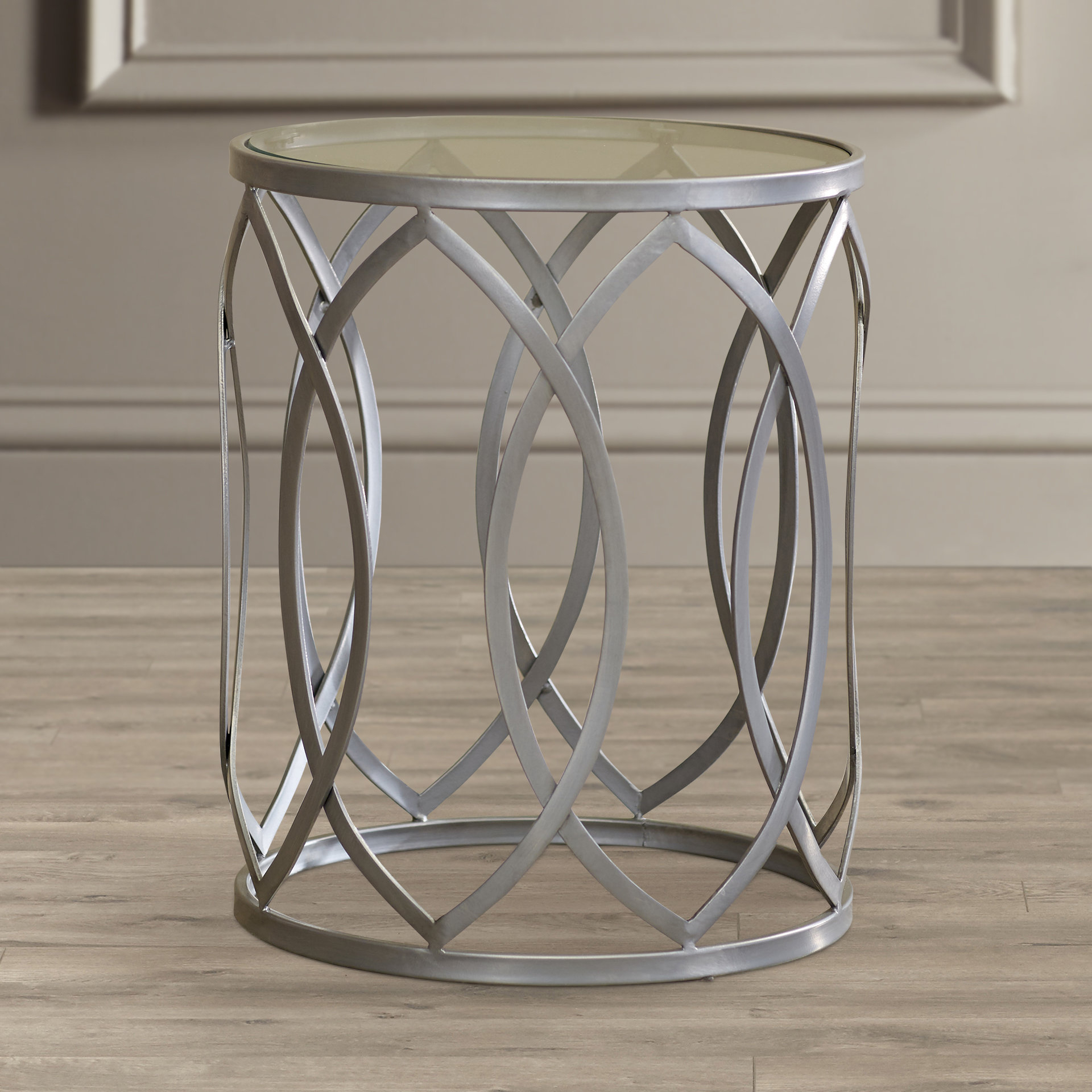 Glass End Tables You'll Love | Wayfair with regard to Ventana Display Console Tables (Image 14 of 30)