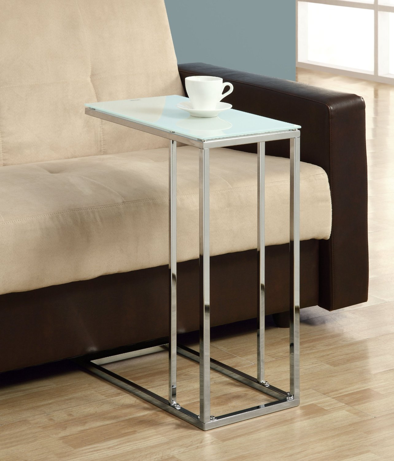 Glass Top Accent Table Metal Base – Glass Decorating Ideas Intended For Parsons Clear Glass Top & Brass Base 48x16 Console Tables (View 23 of 30)