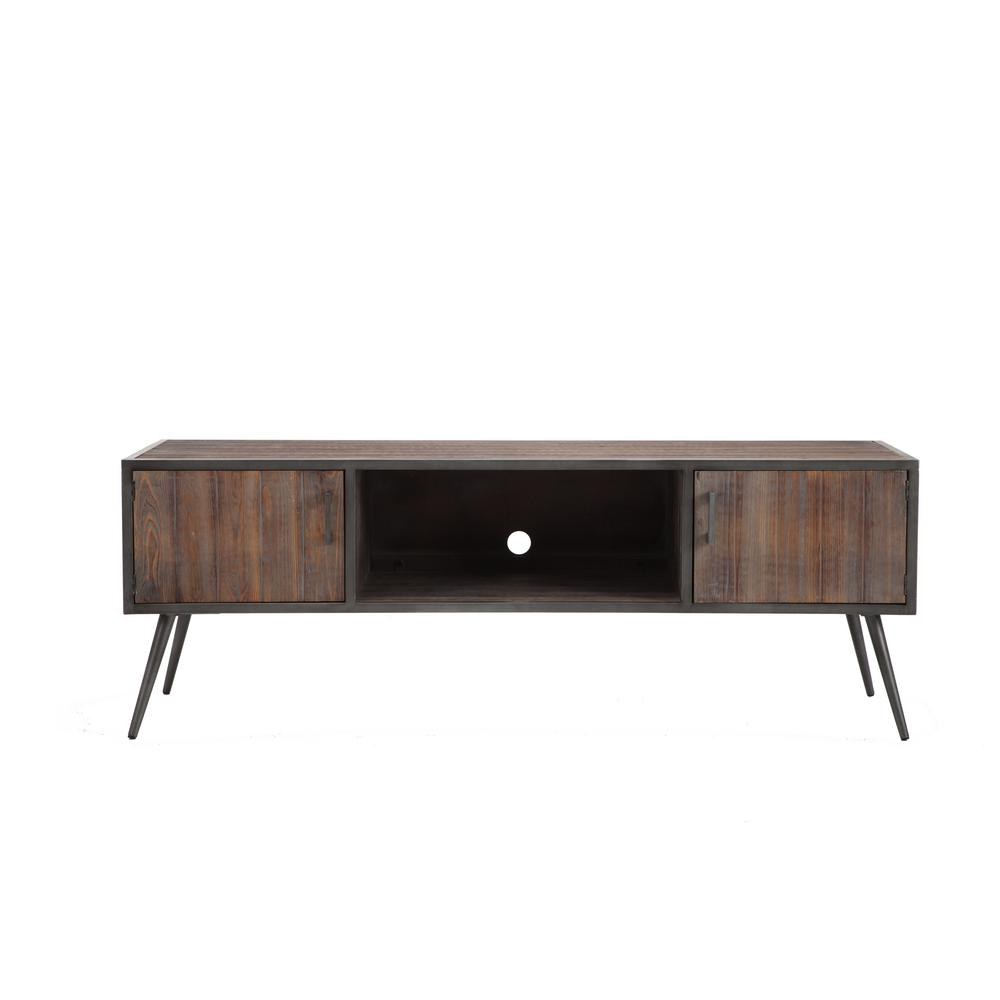 Gray – Tv Stands – Living Room Furniture – The Home Depot With Abbot 60 Inch Tv Stands (View 14 of 30)
