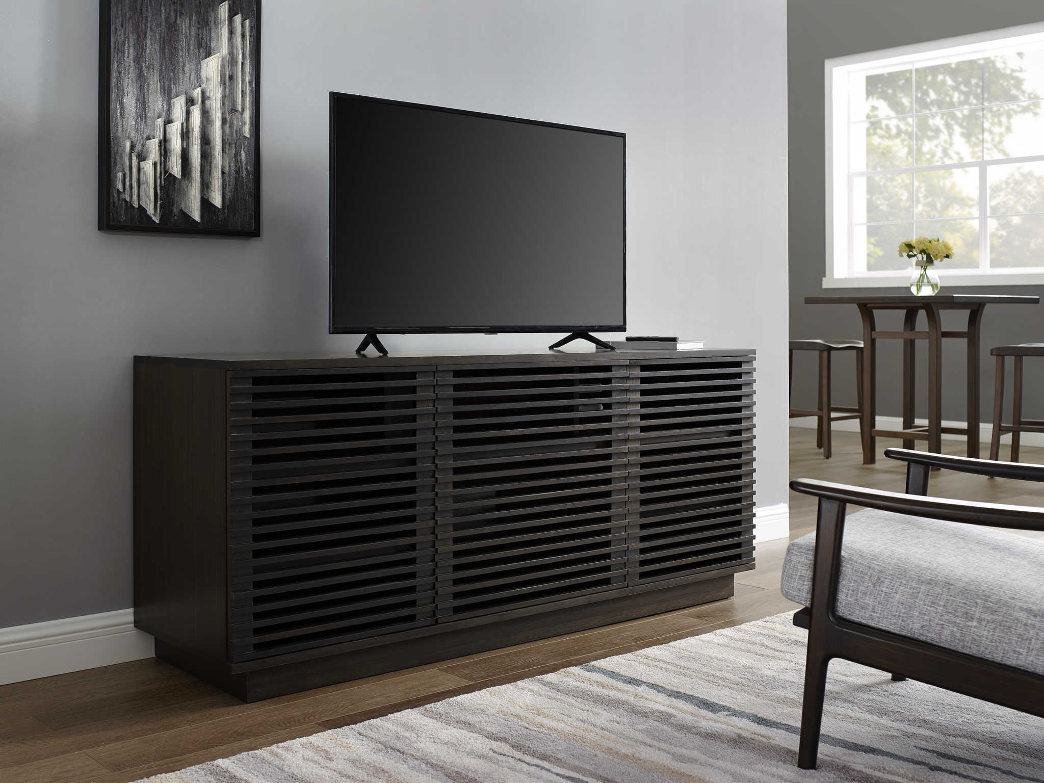 Greenington Rowan Havana 64'' W X 20''d Rectangular Media Center Tv with Rowan 74 Inch Tv Stands (Image 18 of 30)