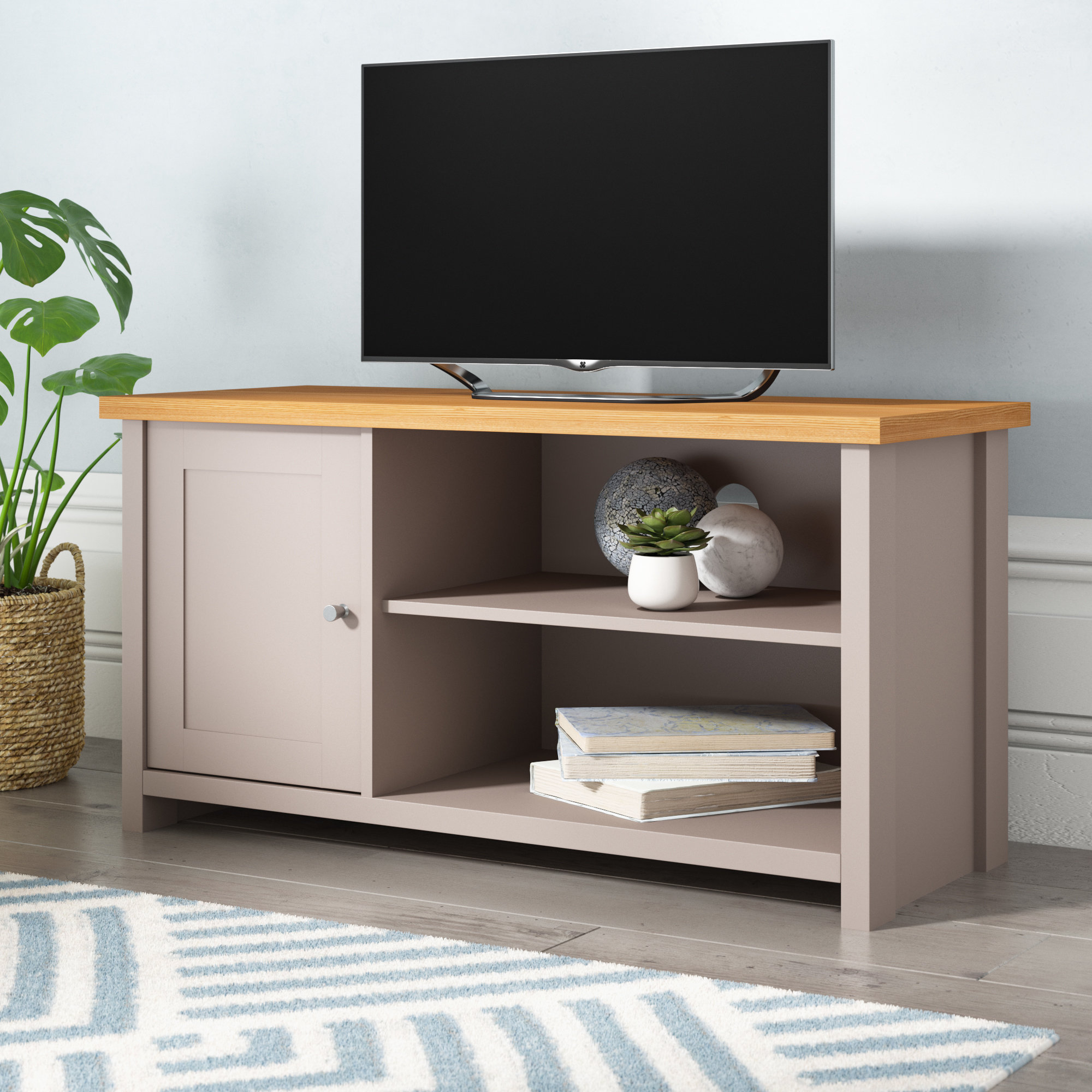 Grey Tv Stands & Entertainment Units | Wayfair.co.uk throughout Valencia 70 Inch Tv Stands (Image 7 of 30)