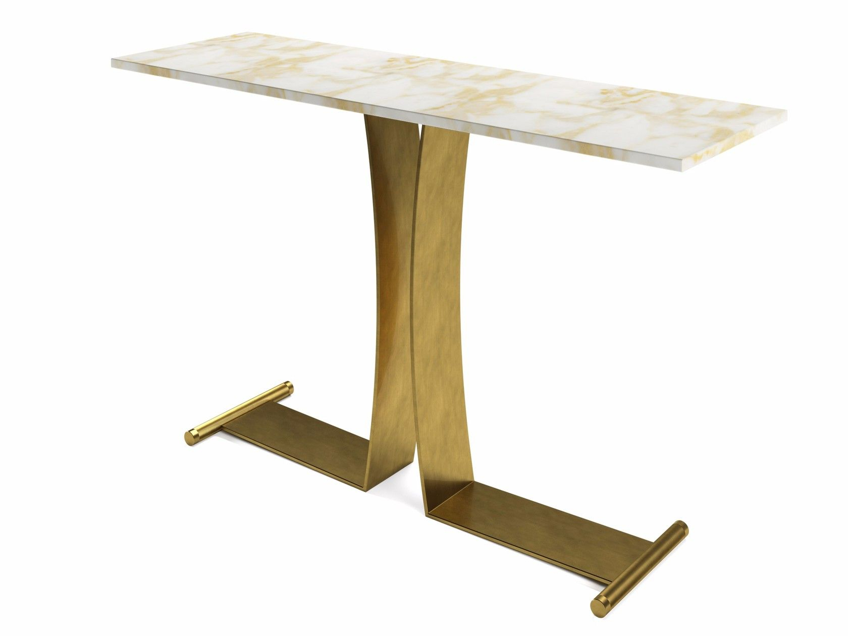 Guy | Console Table In 2018 | 1Gja Console Tables | Pinterest with Parsons Walnut Top & Brass Base 48X16 Console Tables (Image 11 of 30)