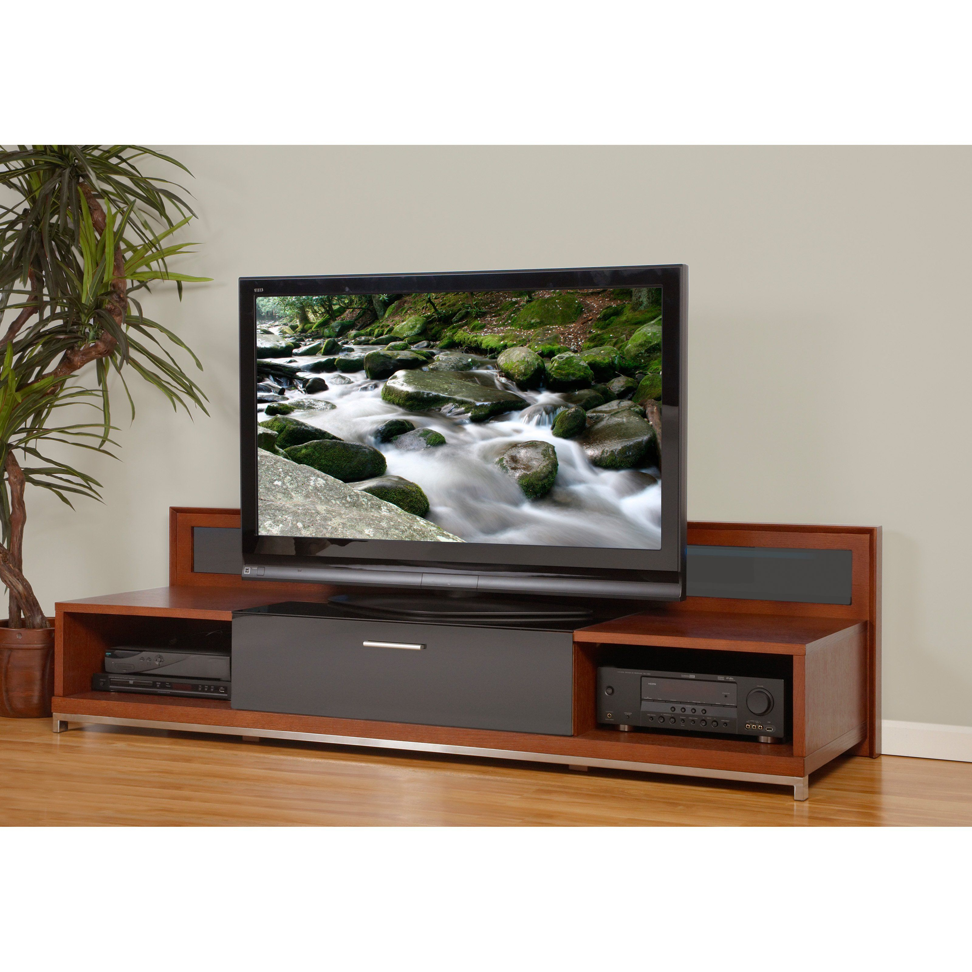 Have To Have It. Plateau Valencia 79 Inch Tv Stand In Walnut $ (View 2 of 30)