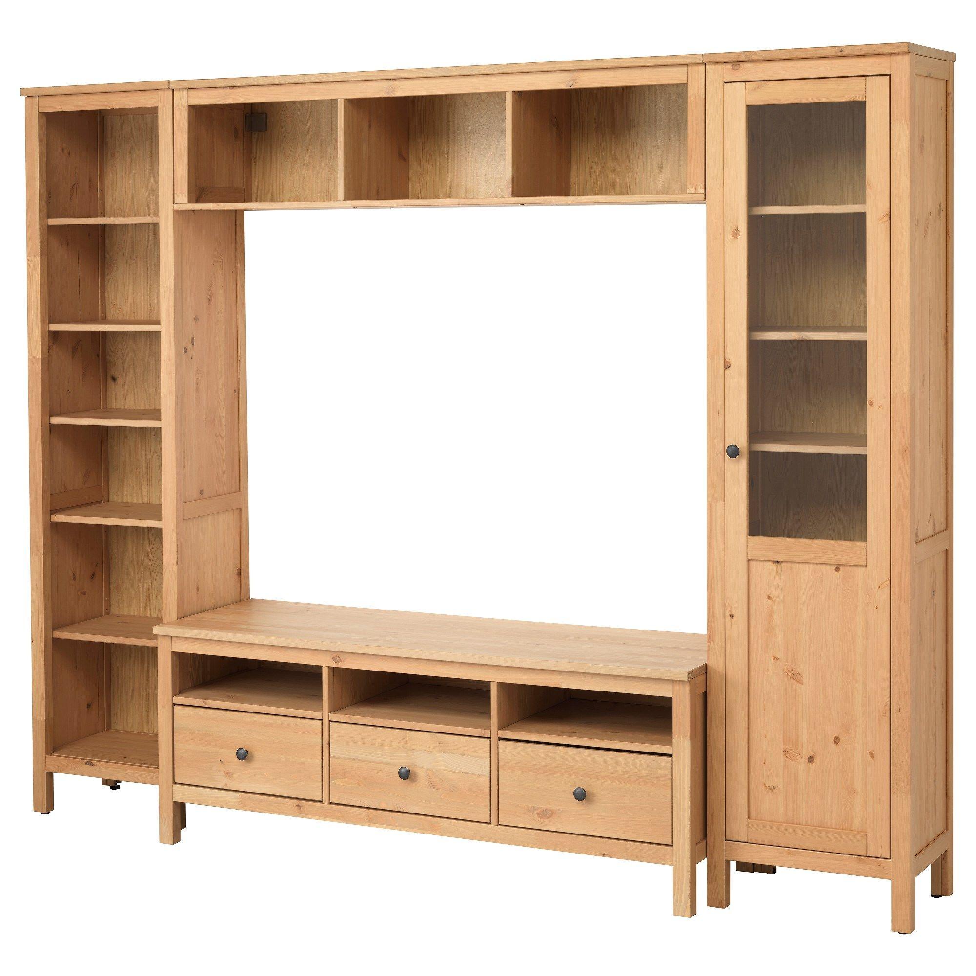 Hemnes Tv Ünitesi Açık Kahverengi 247x197 Cm   Ikea Tv Dolap Intended For Dixon White 84 Inch Tv Stands (View 2 of 30)