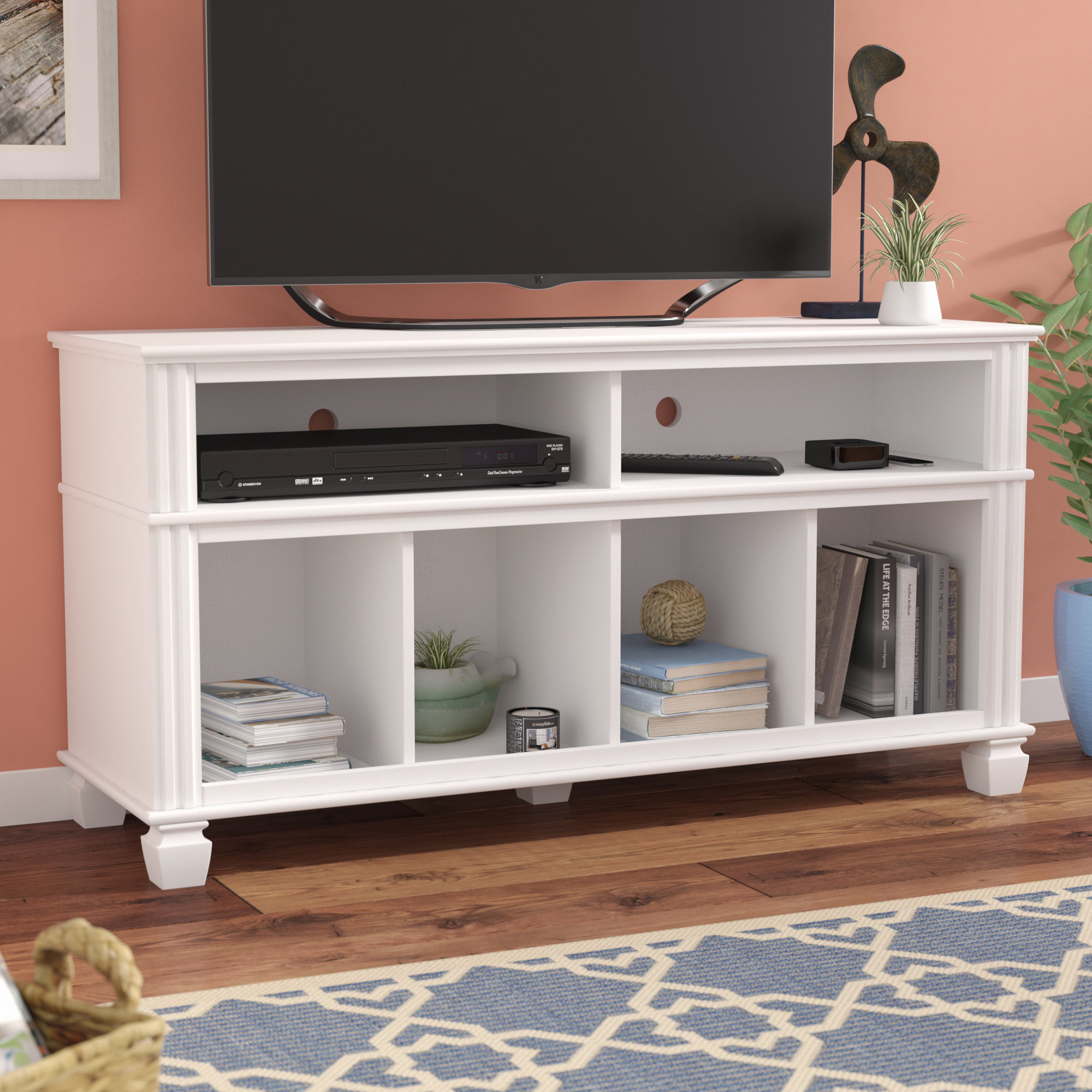 """Highland Dunes Bolden Tv Stand For Tvs Up To 55"""" & Reviews   Wayfair With Laurent 50 Inch Tv Stands (View 24 of 30)"""