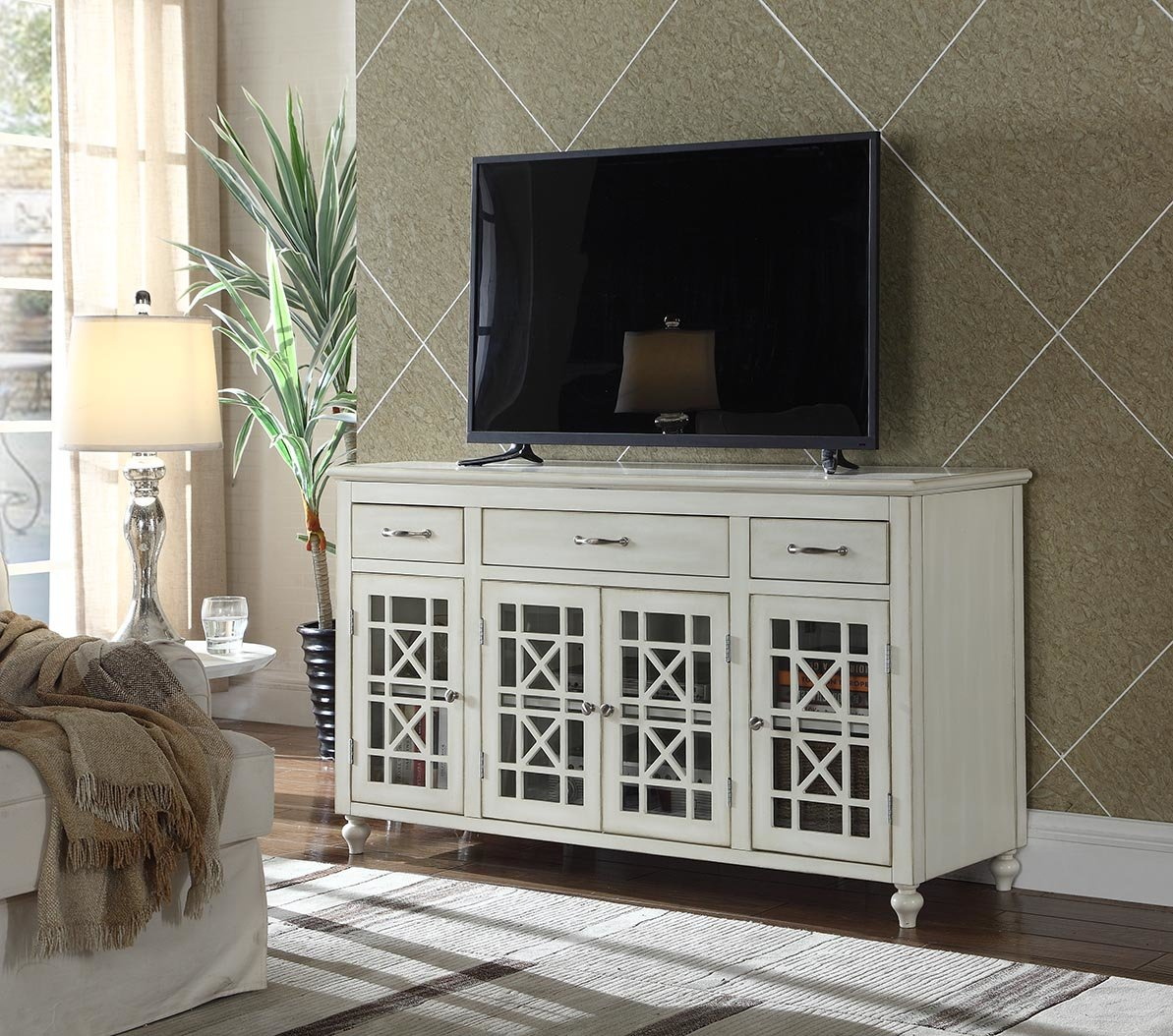 """Highland Dunes Hardin Tv Stand For Tvs Up To 65"""" & Reviews 