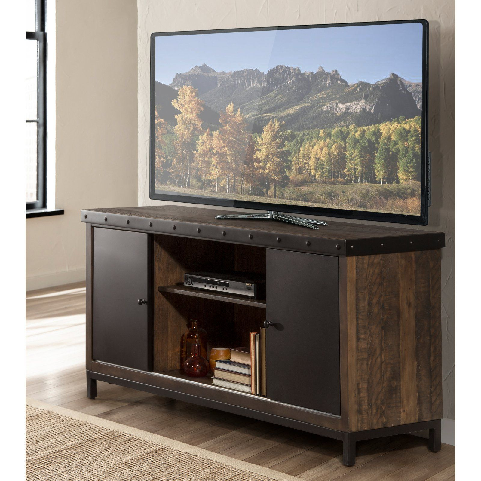Hillsdale Furniture Jennings 64 In. Entertainment Tv Stand In 2019 for Maddy 50 Inch Tv Stands (Image 11 of 30)