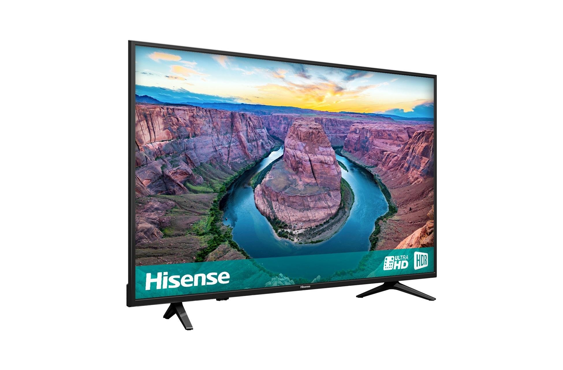 Hisense 50Ae6100Uk | 50 Inch 4K Ultra Hd Hdr Smart Led Tv | Richer regarding Wakefield 85 Inch Tv Stands (Image 8 of 30)