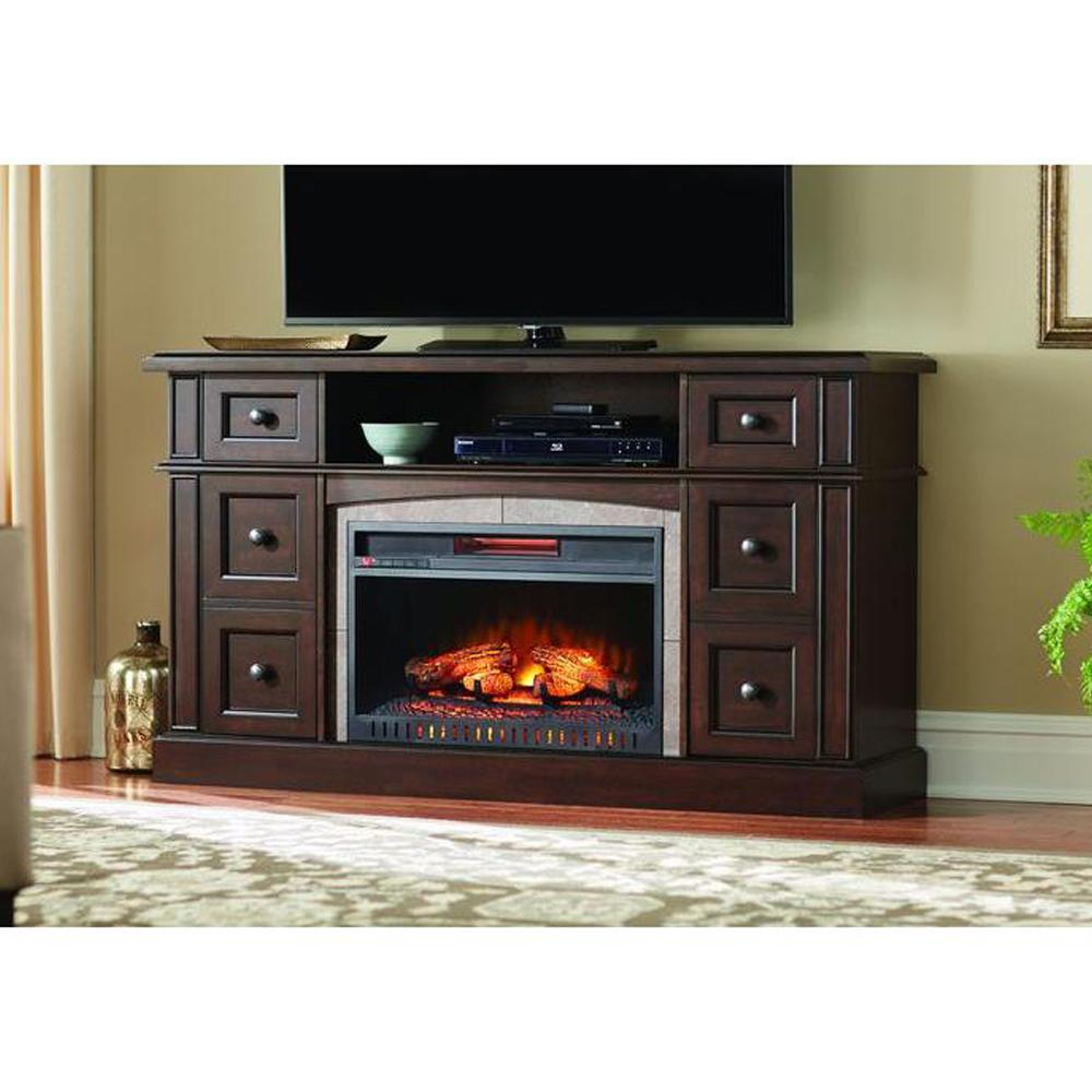 Home Decorators Collection Bellevue Park 59 In. Media Console throughout Canyon 54 Inch Tv Stands (Image 12 of 30)