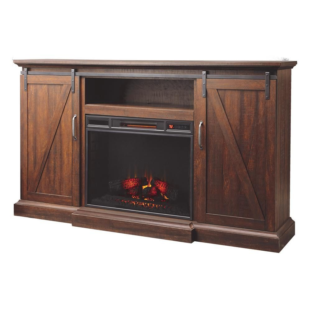Home Decorators Collection Chestnut Hill 68 In. Media Console with Wyatt 68 Inch Tv Stands (Image 9 of 30)
