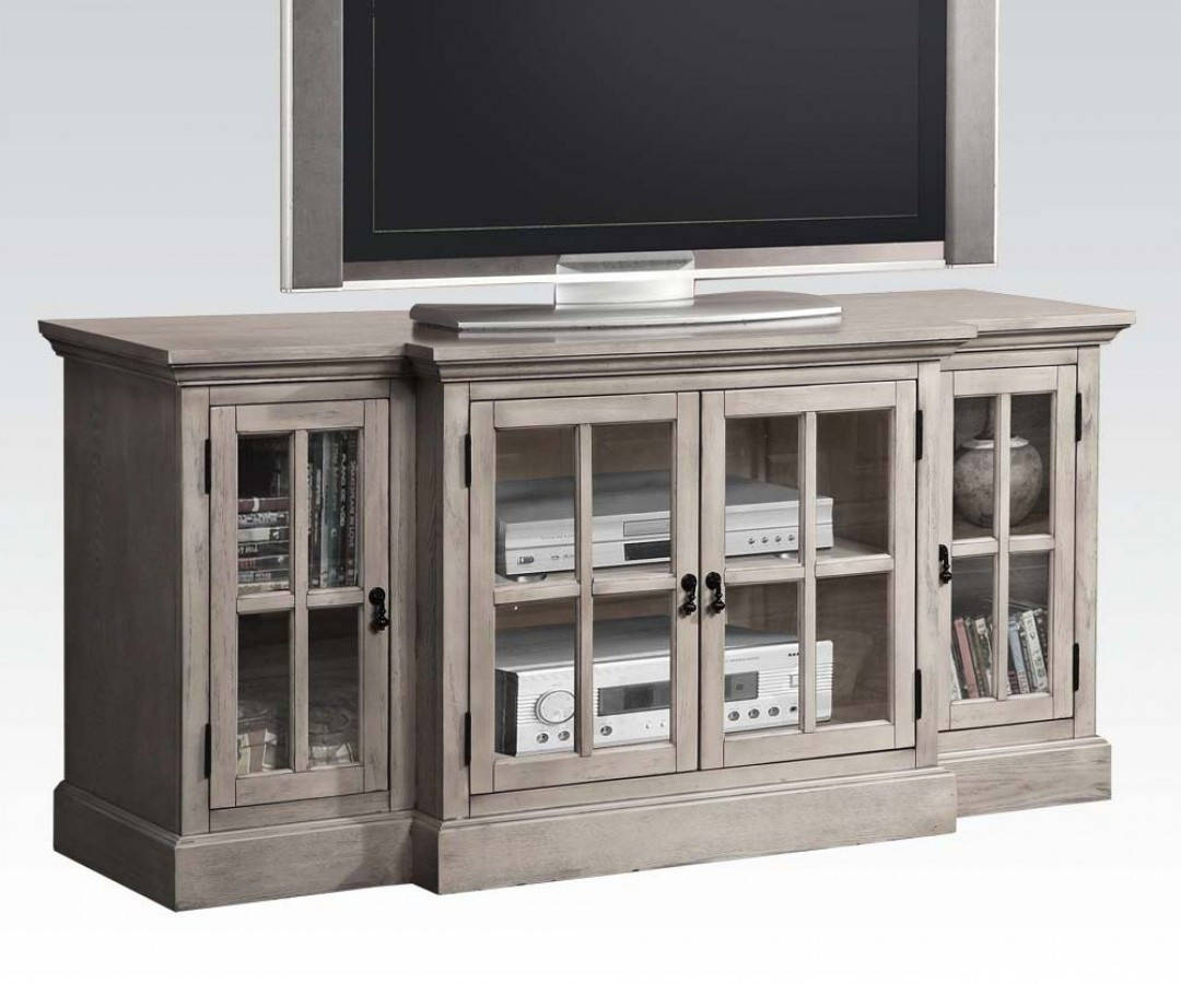 Homely Idea Gray Tv Console 60 Inch Charcoal Grey Tv Stand Bishop With Regard To Sinclair Grey 74 Inch Tv Stands (View 21 of 30)