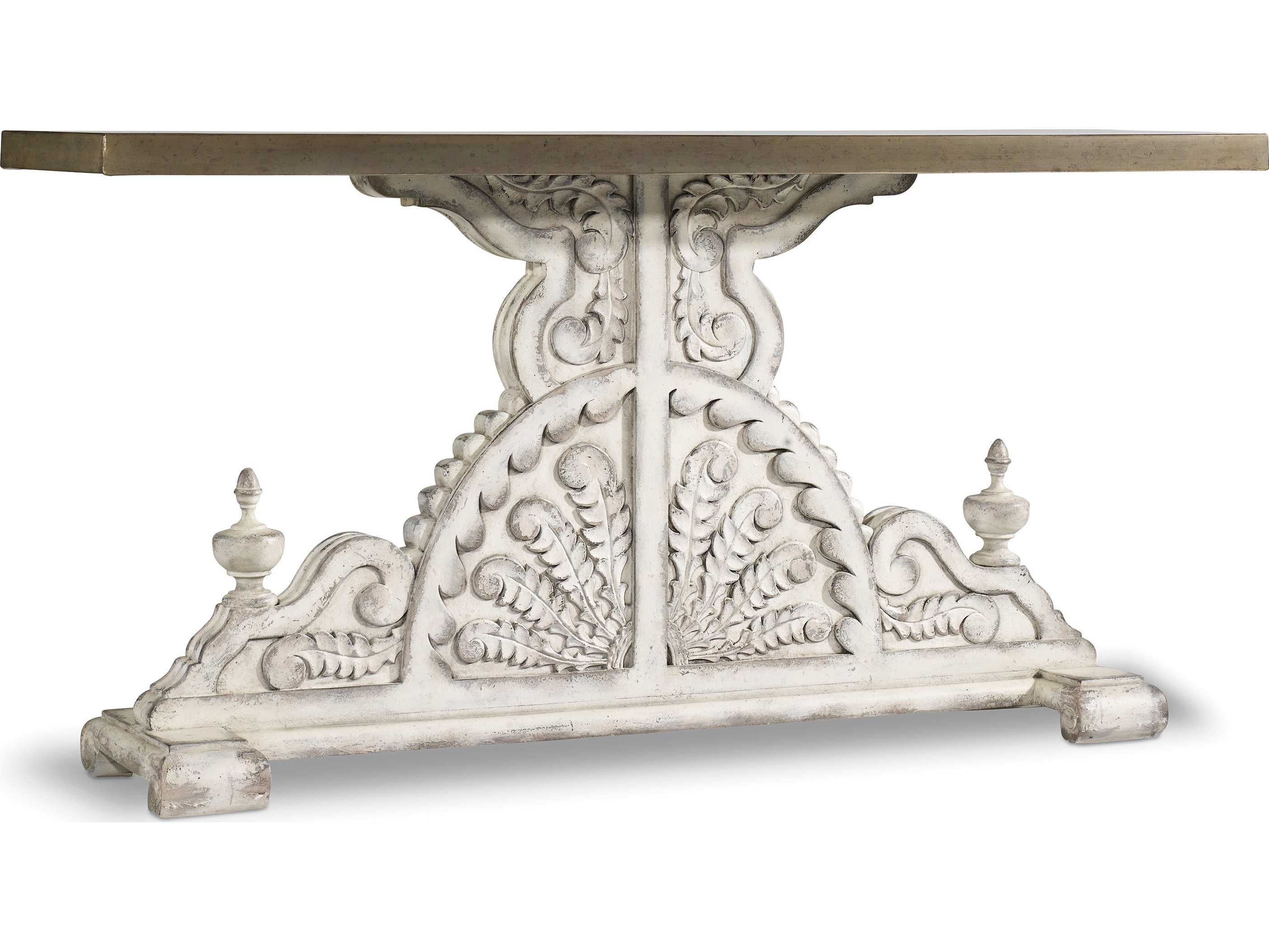 Hooker Furniture Sanctuary Whites, Creams & Beige 64''l X 18''w Throughout Remi Console Tables (View 22 of 30)