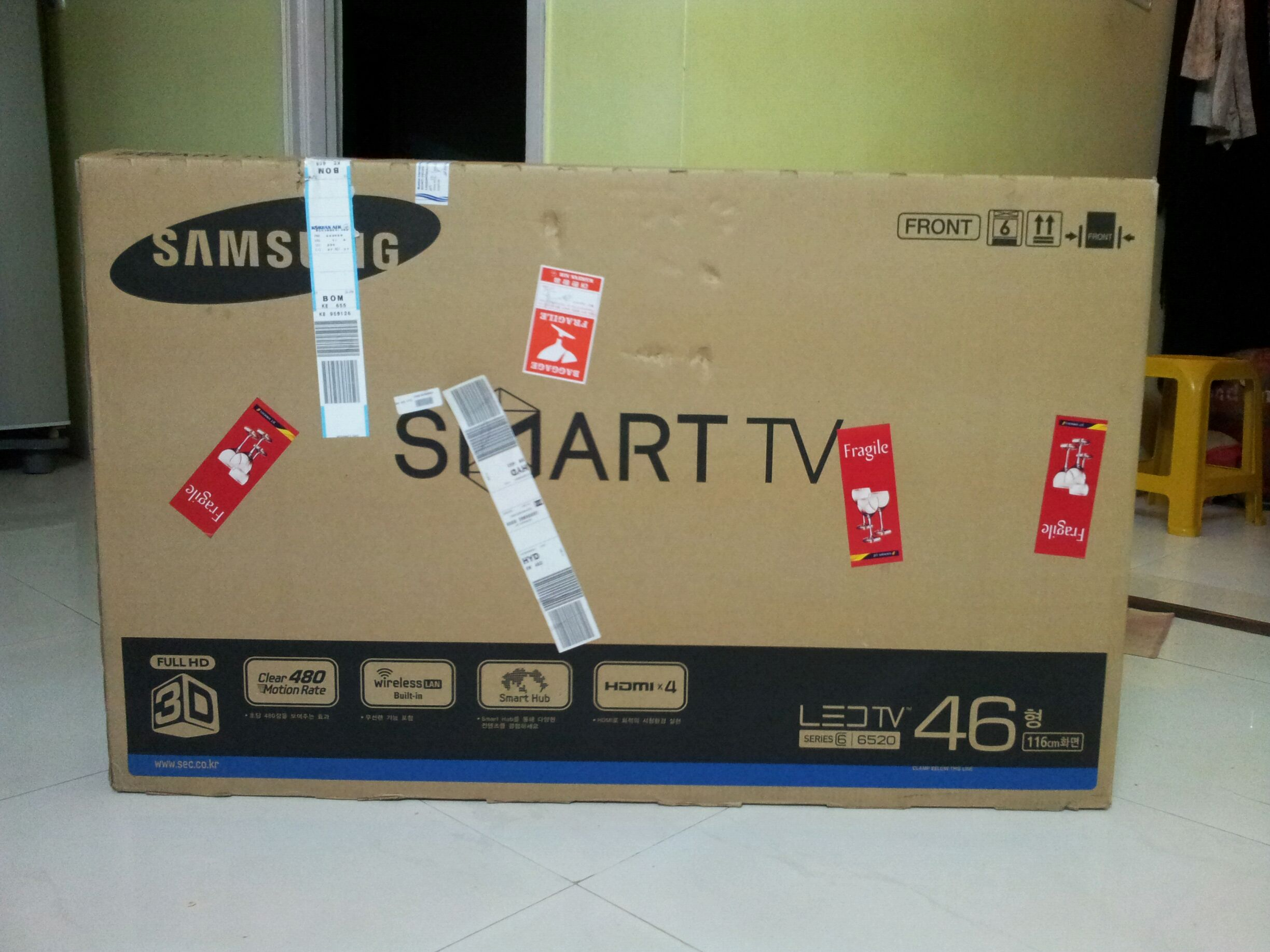 How I Bought A 46 Inch Led 3d Smart Tv To India – All About Education Throughout Maddy 60 Inch Tv Stands (View 23 of 30)