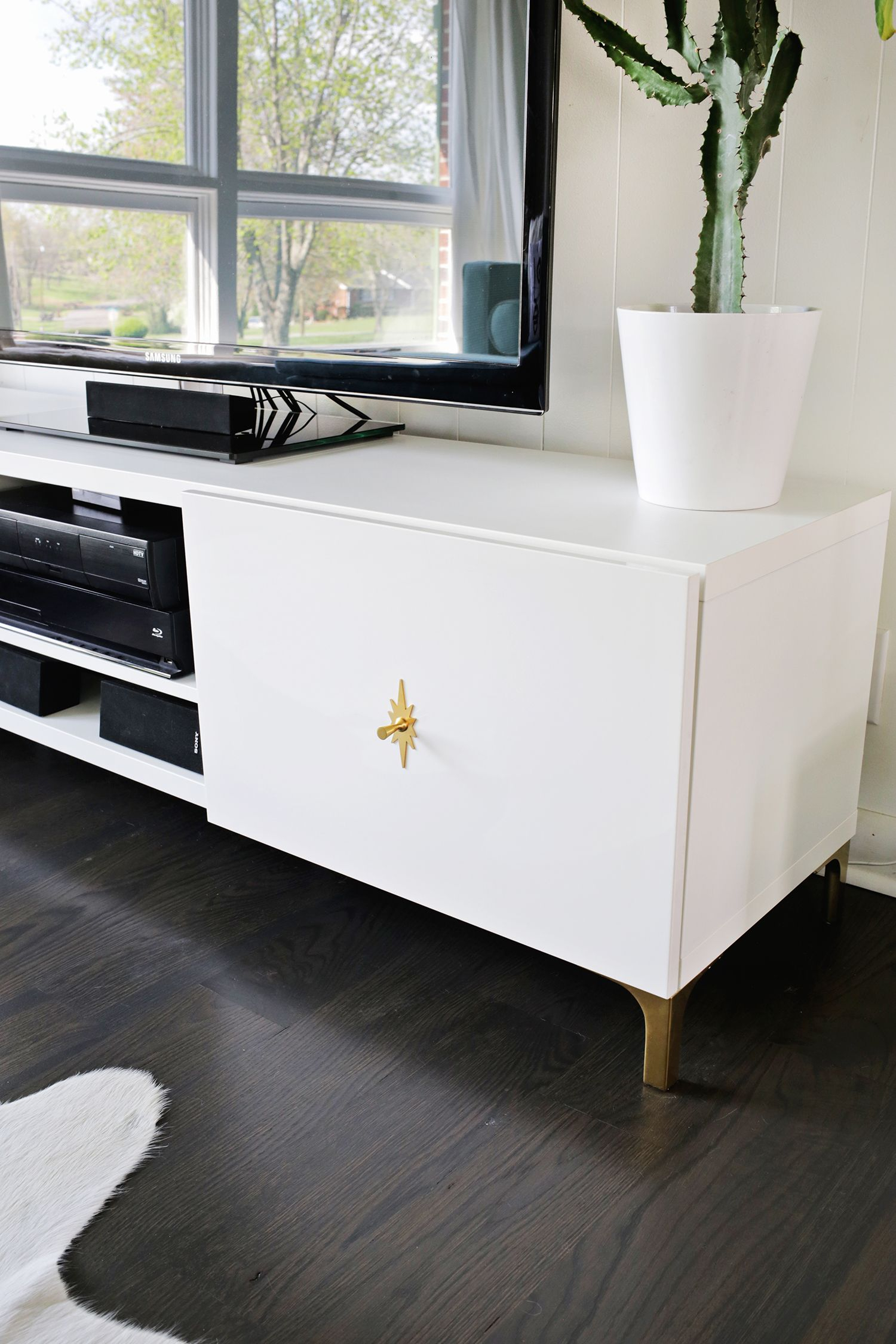 Ikea Restyle: Mid Century Tv Stand | Manny & My House Inspiration inside Century Sky 60 Inch Tv Stands (Image 14 of 30)