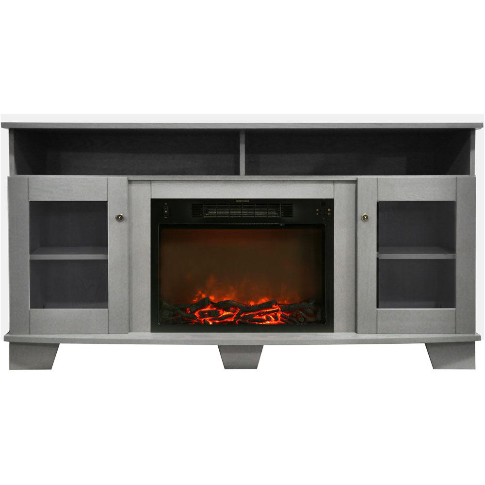 Infrared – Fireplace Tv Stands – Electric Fireplaces – The Home Depot Regarding Valencia 60 Inch Tv Stands (View 16 of 30)